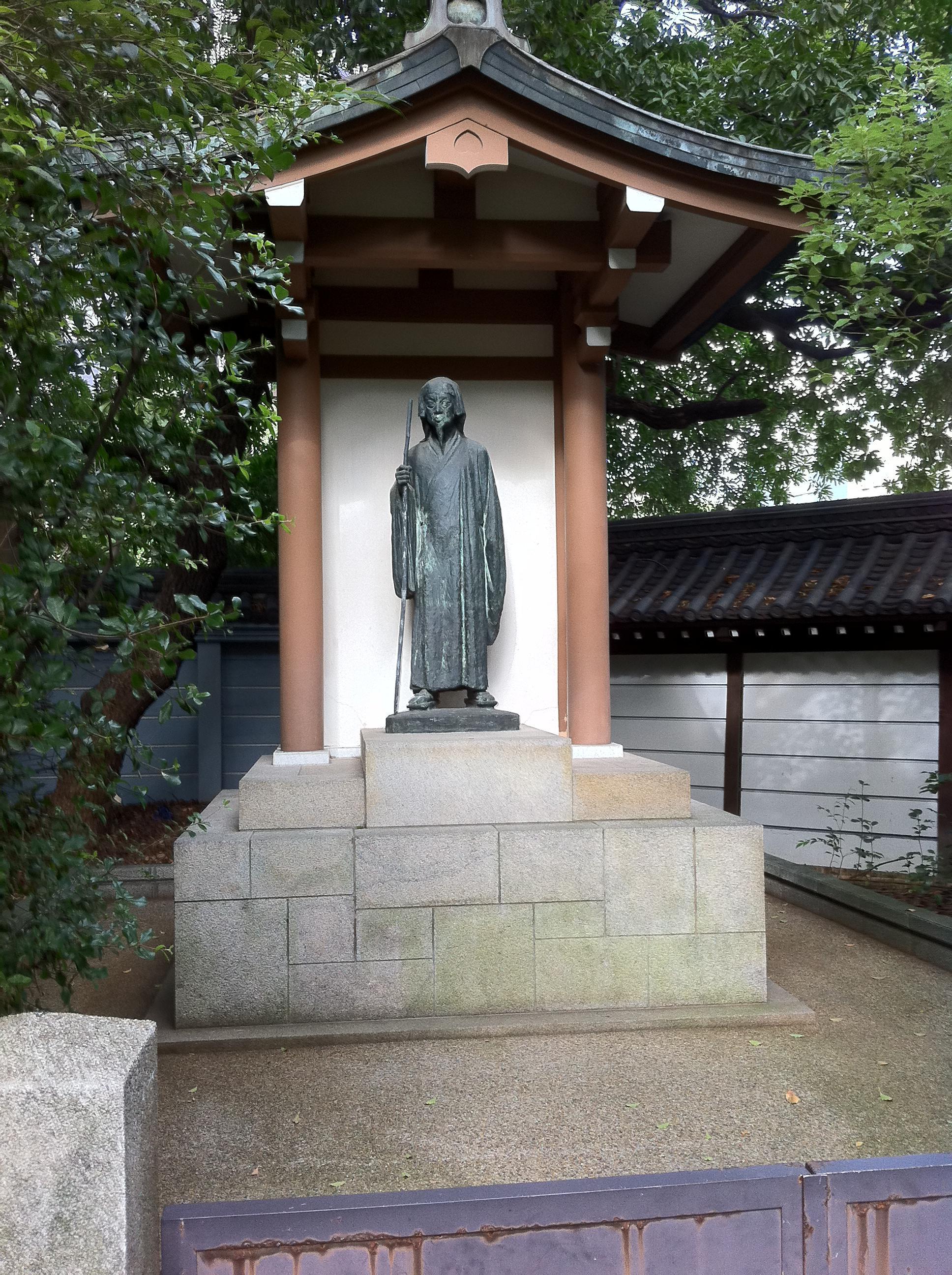 湊川神社の像