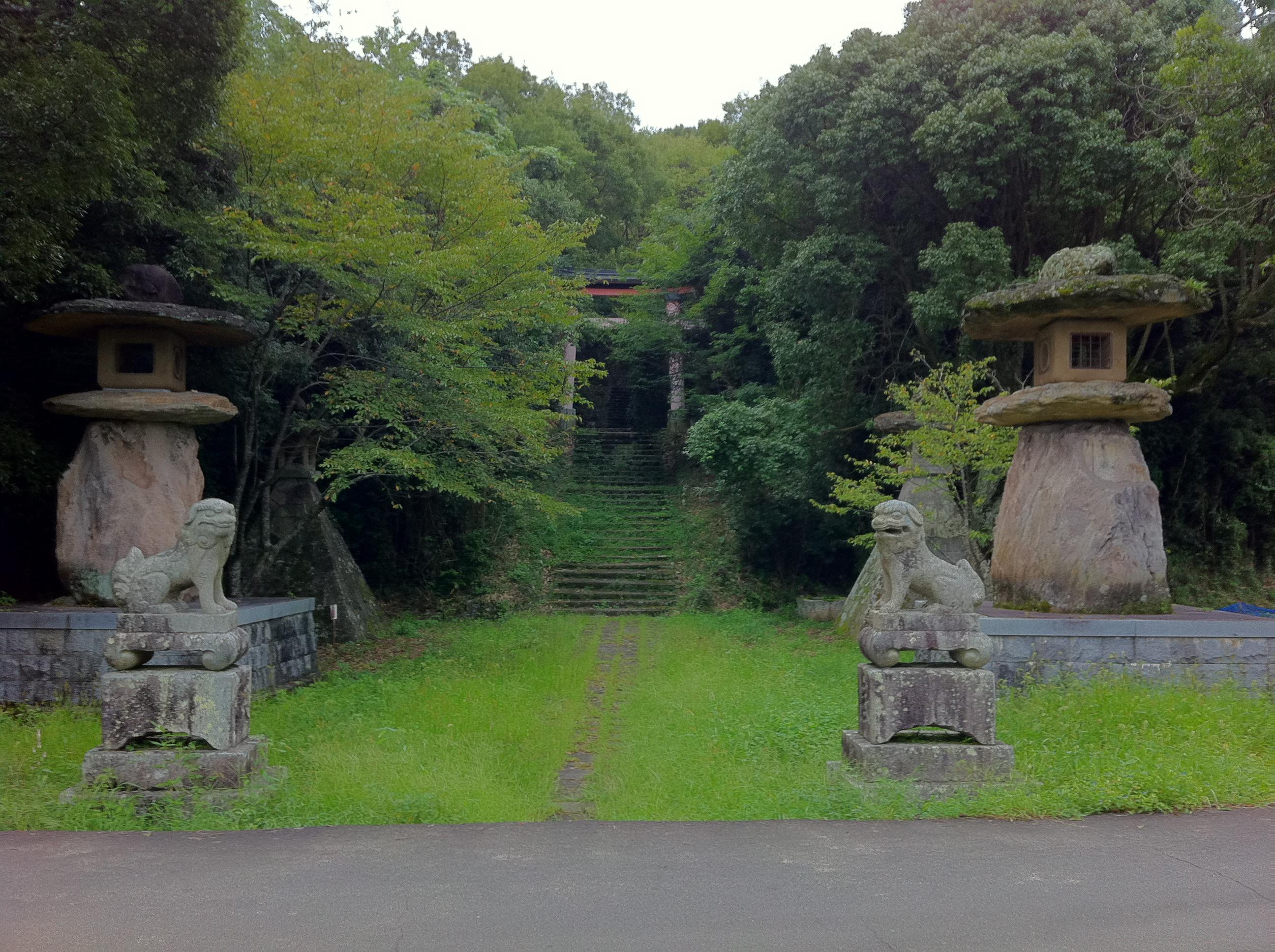 宇佐神宮の自然