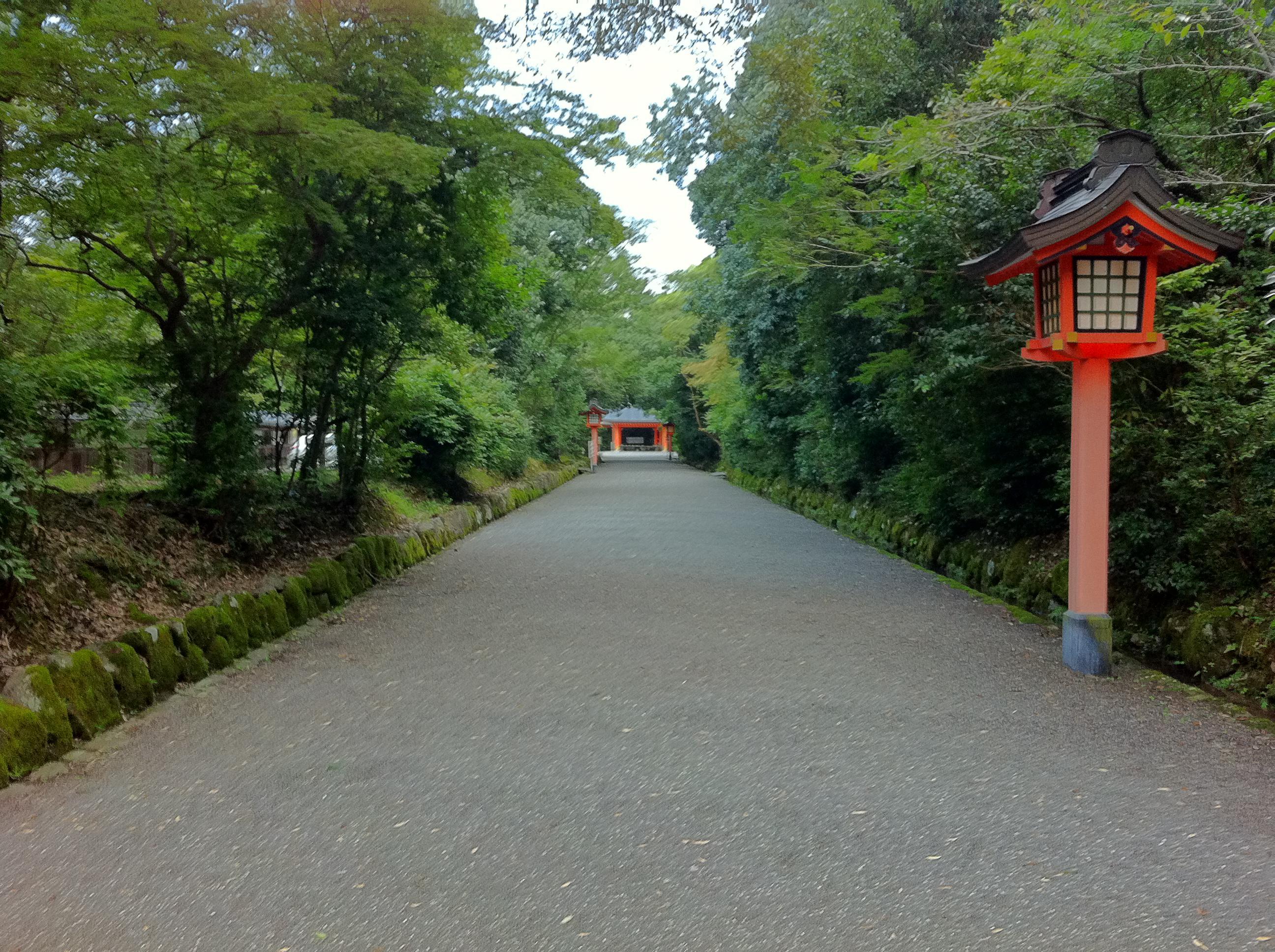 宇佐神宮の景色