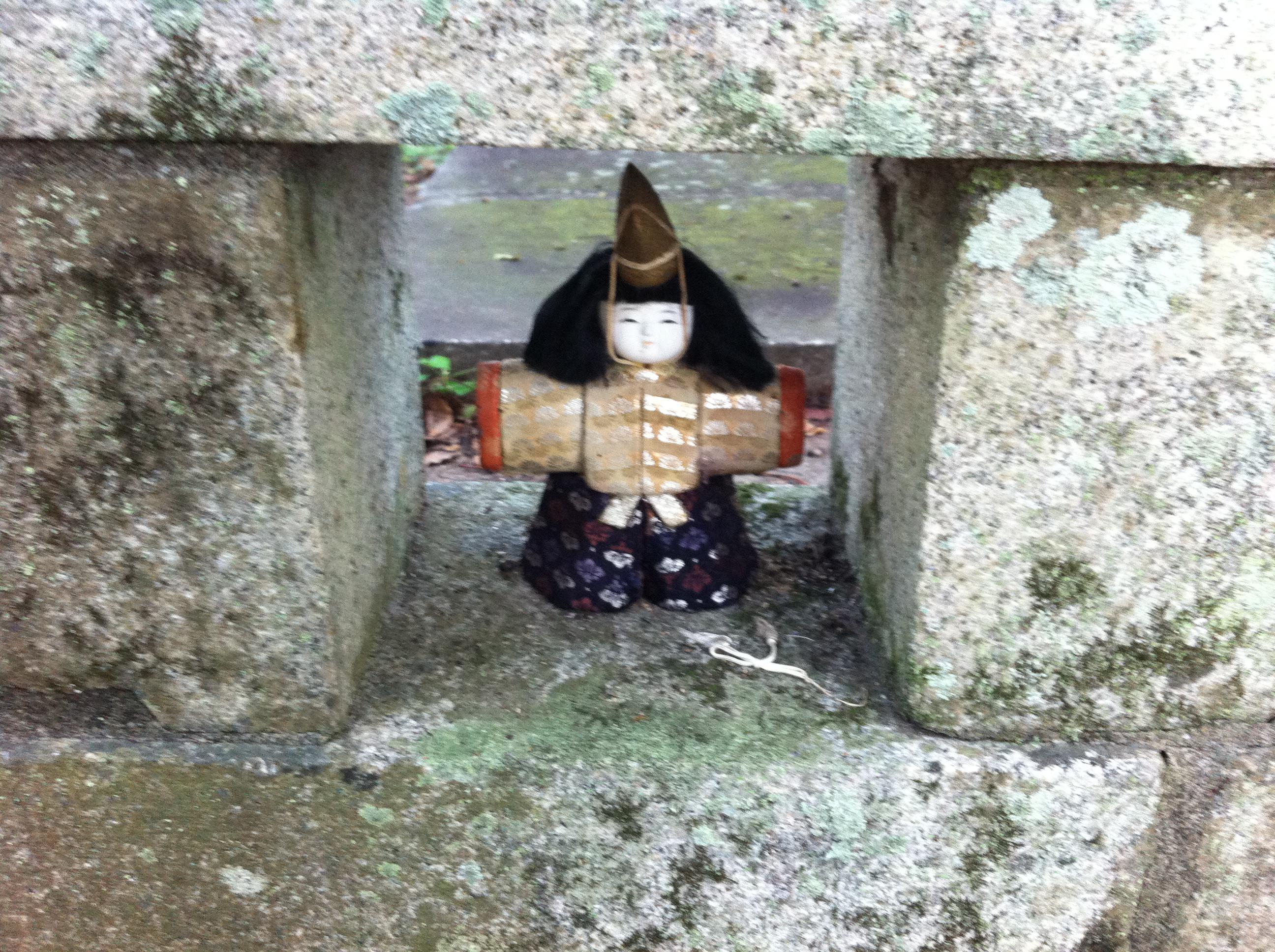宇佐神宮の像