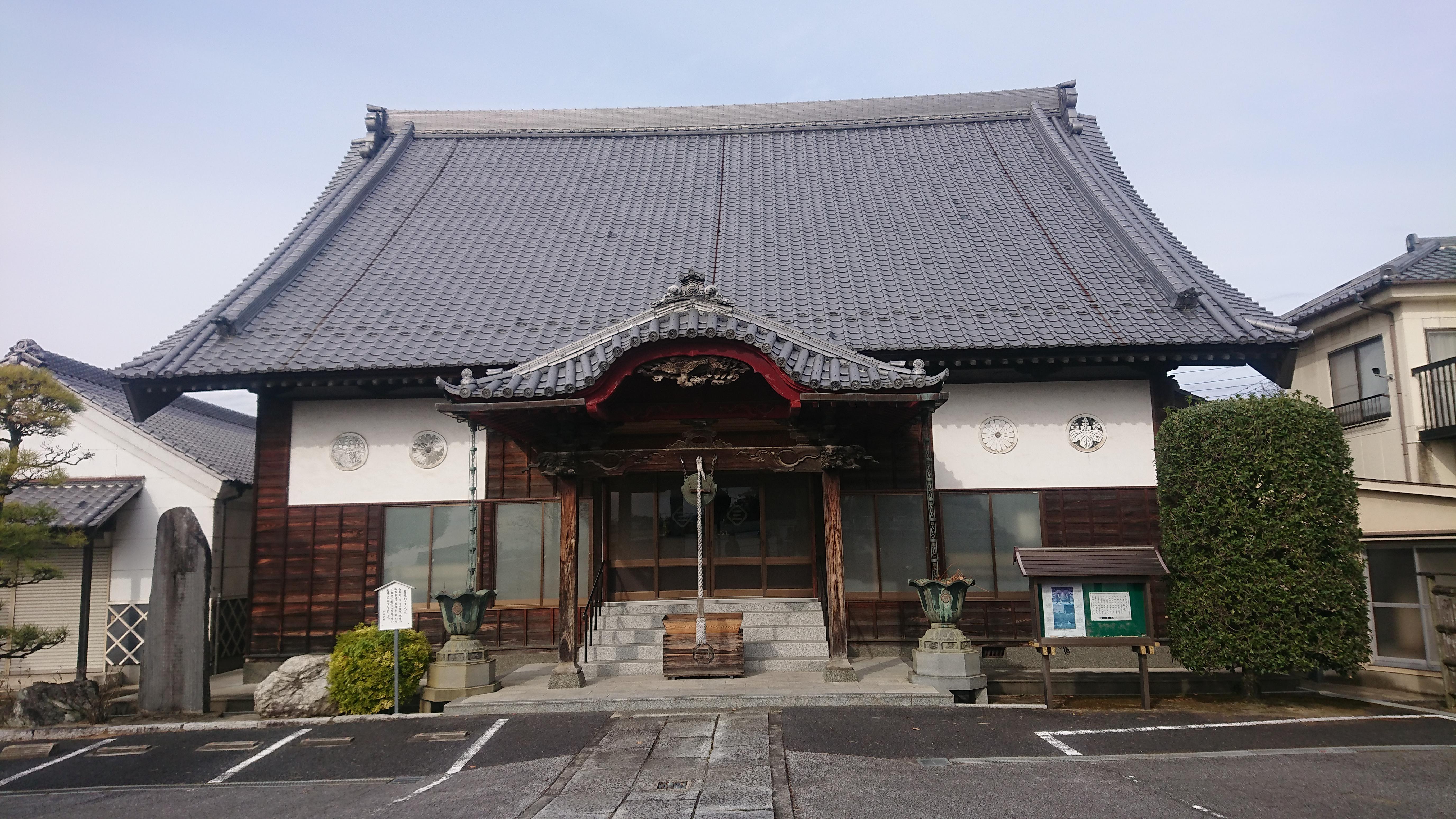 涅槃寺の本殿
