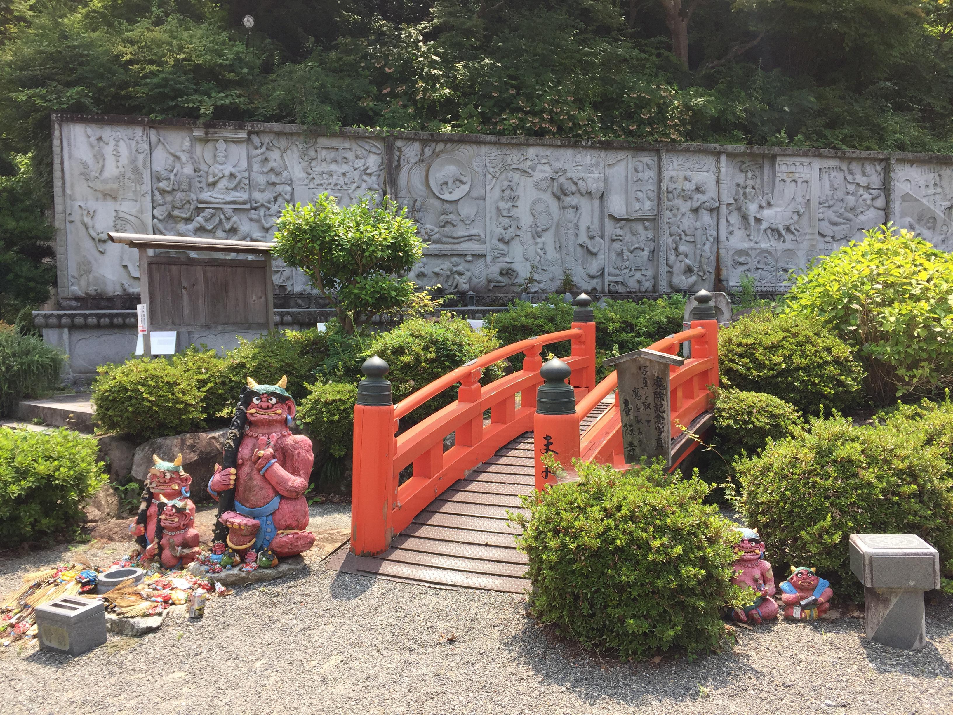 南法華寺(壷阪寺)の庭園