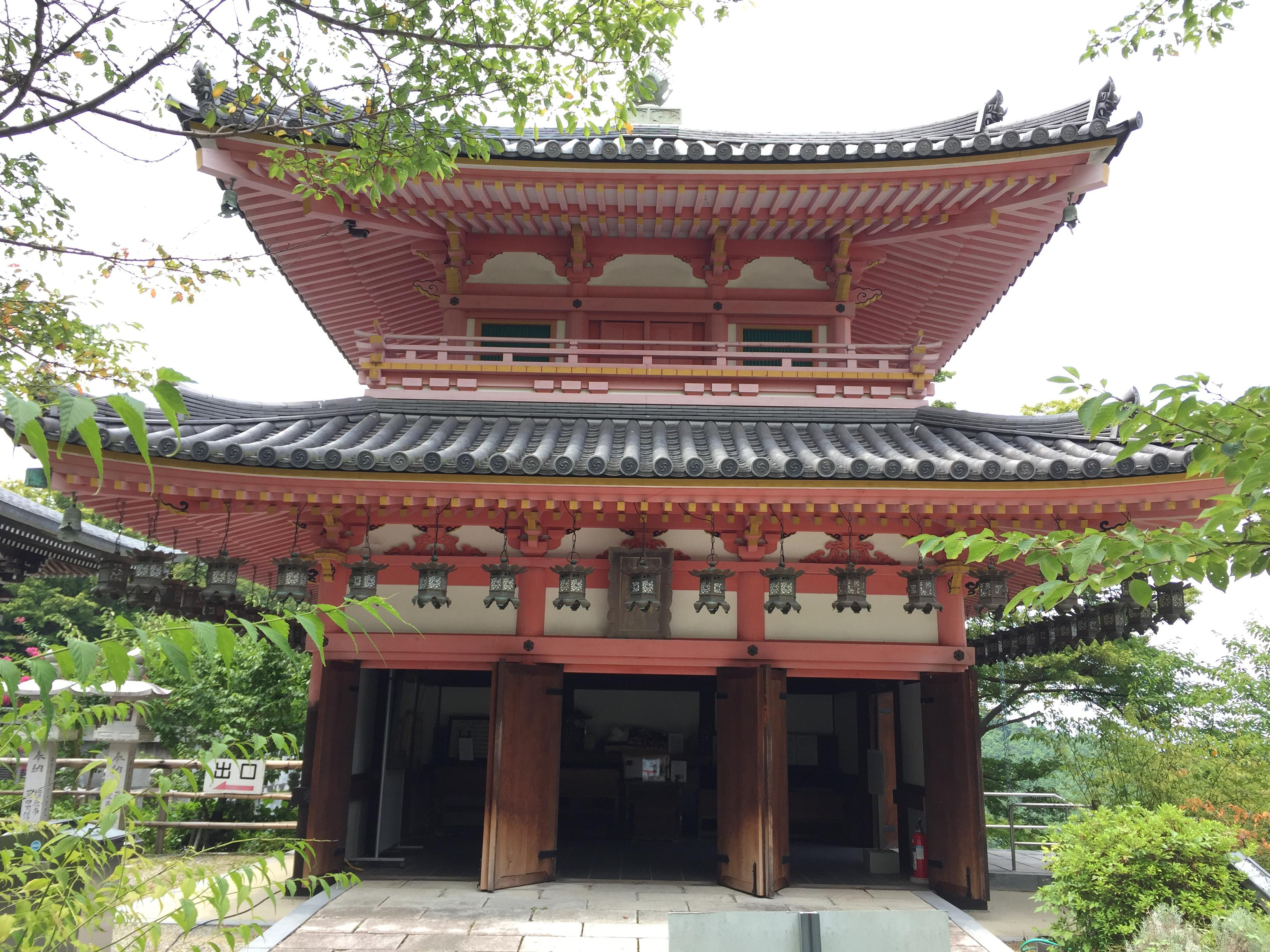 南法華寺(壷阪寺)の本殿
