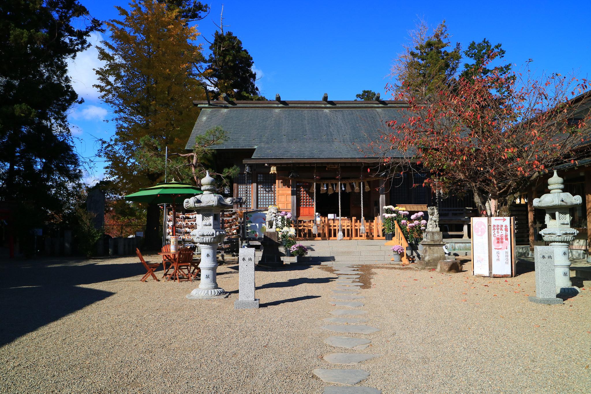 二柱神社の境内・文化財