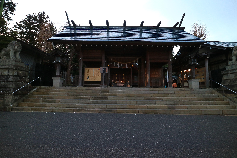 開成山大神宮の山門(福島県郡山駅)