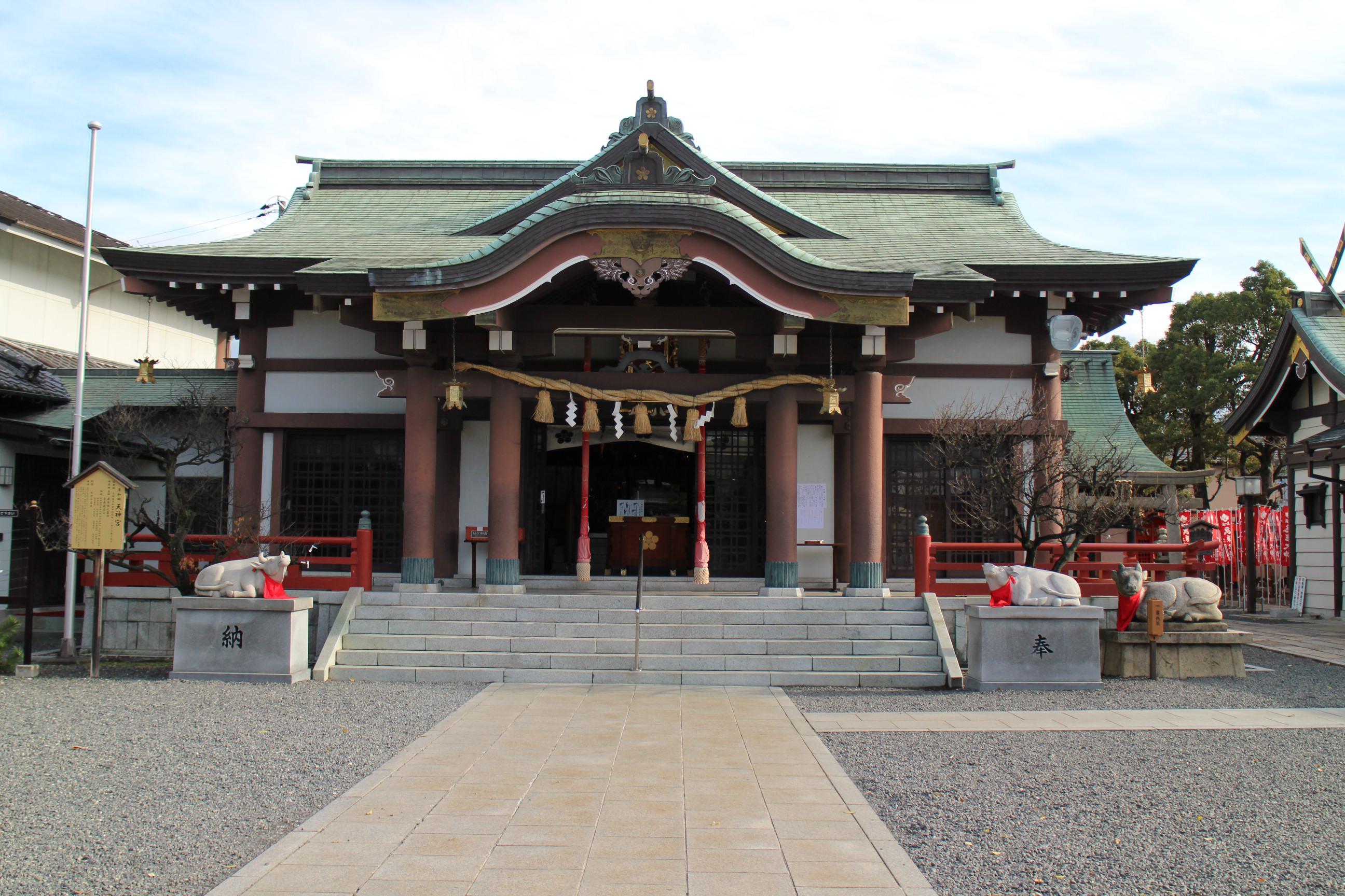 岸和田天神宮の本殿