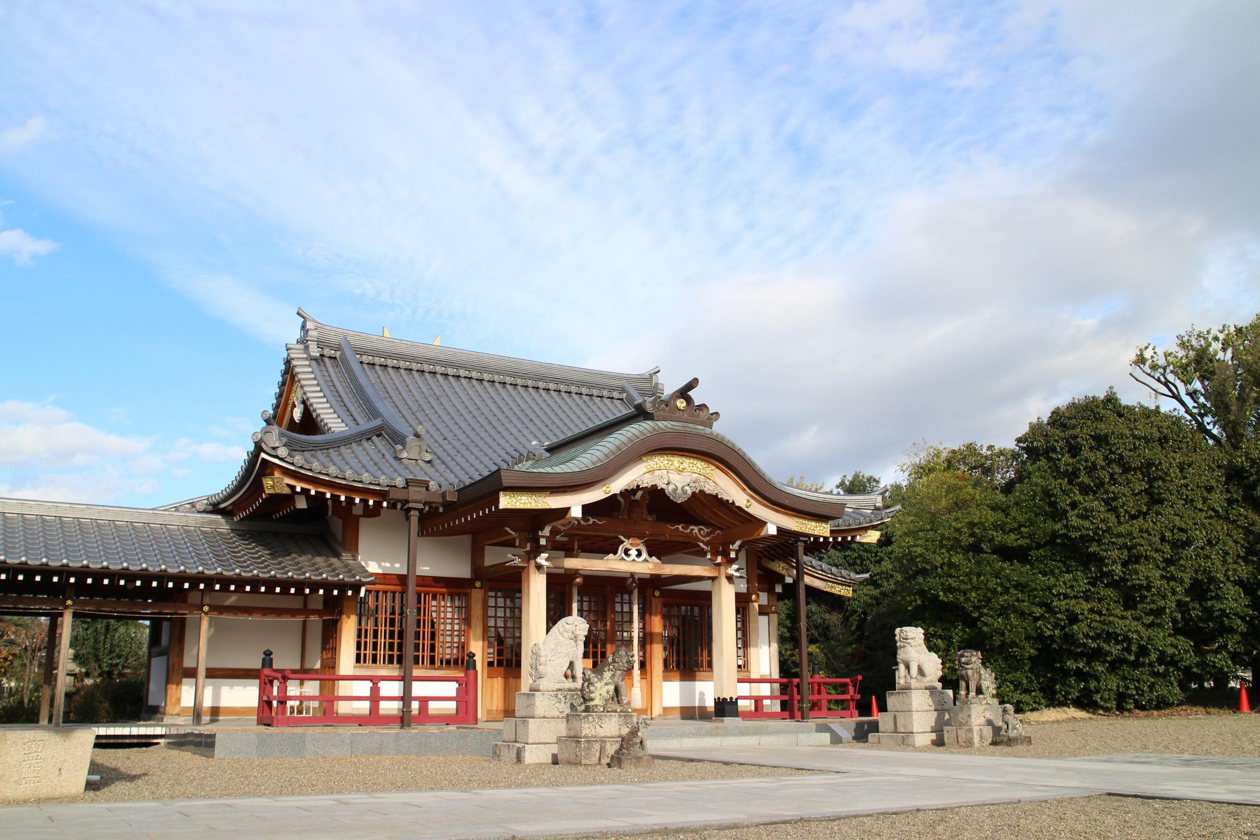 阿理莫神社の本殿