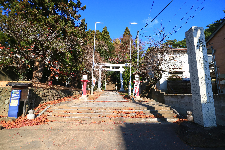 青葉神社の景色