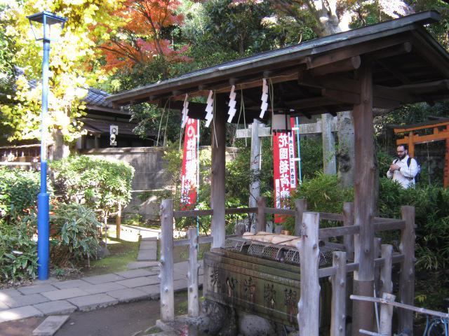 五條天神社の手水