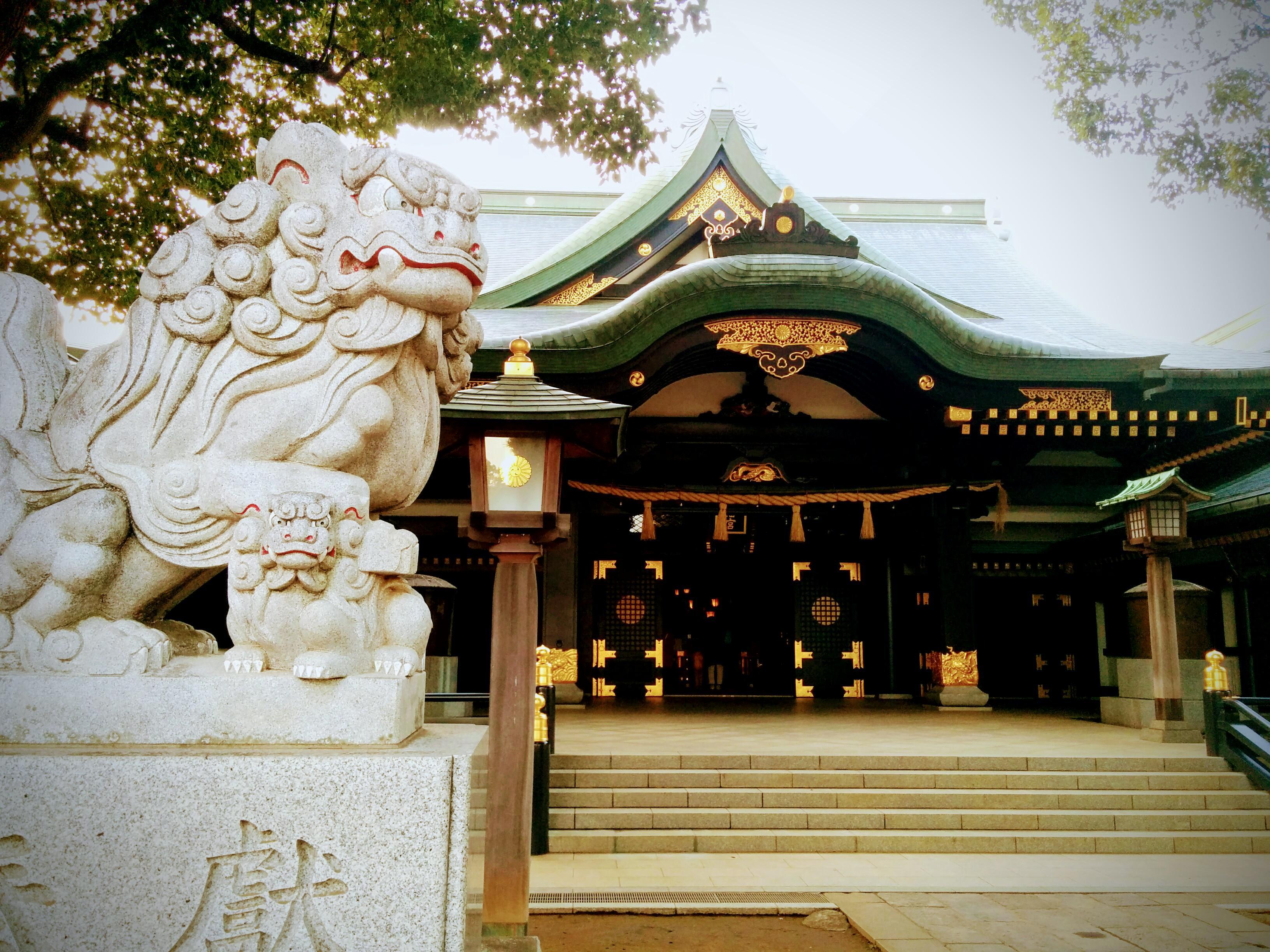 穴八幡宮の本殿
