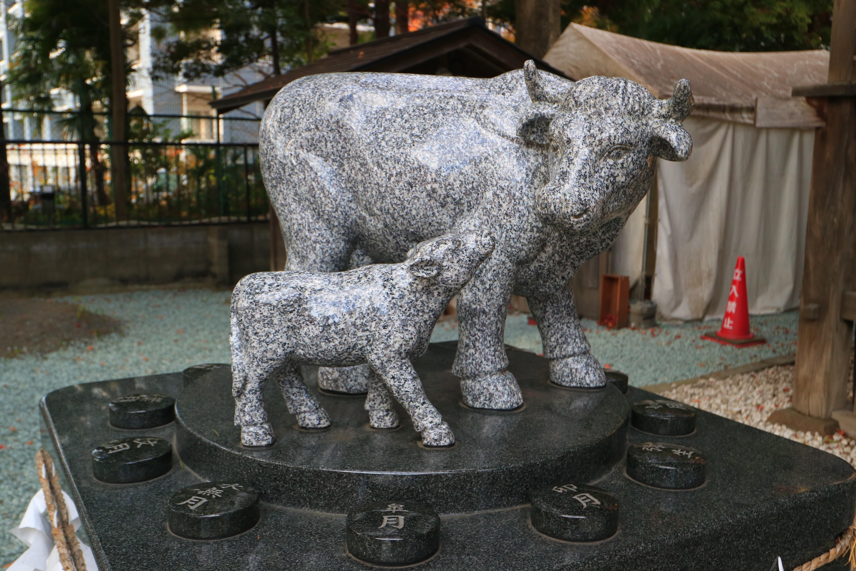 榴岡天満宮の狛犬