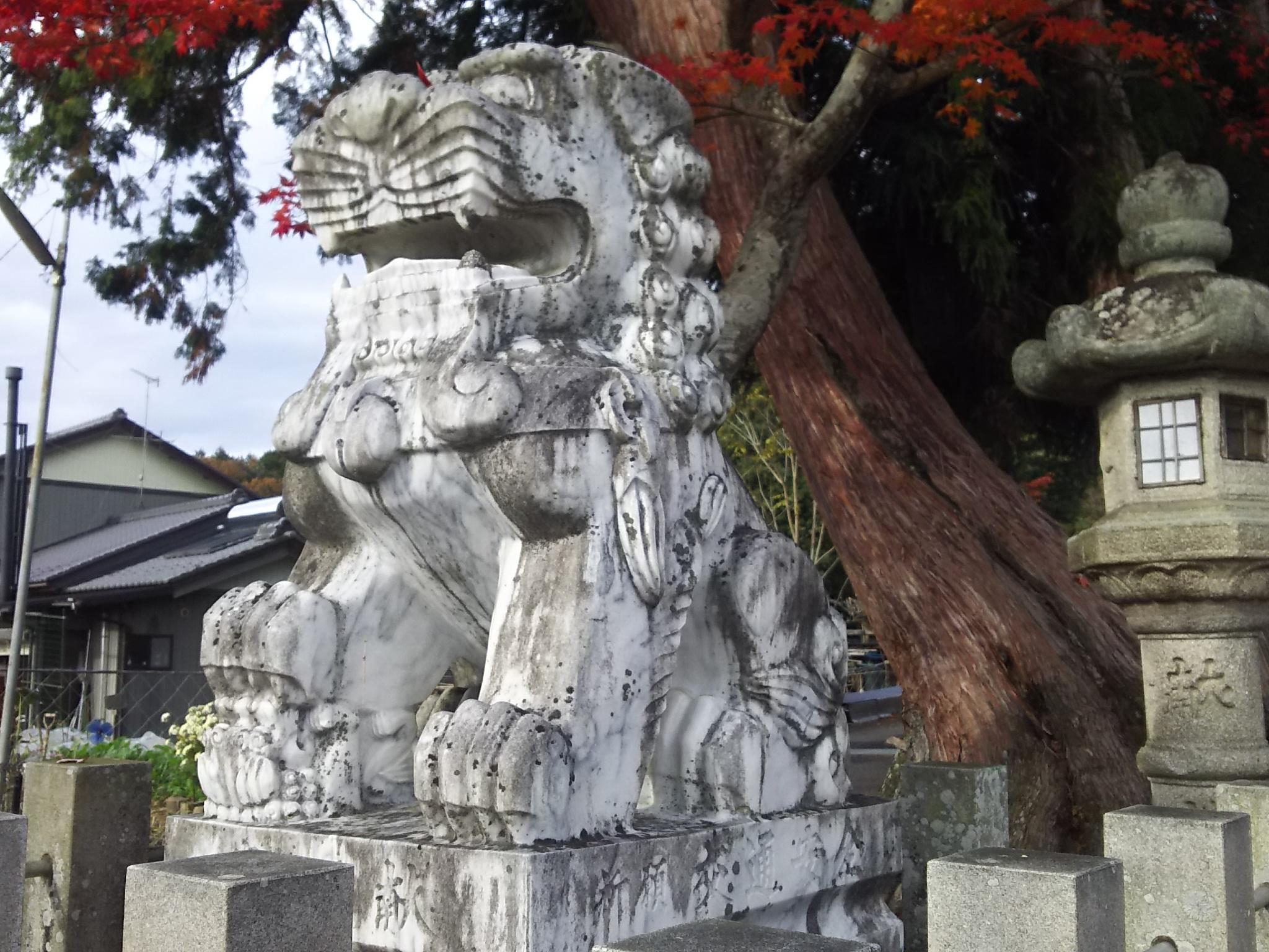 八幡神社(武芸八幡宮)の狛犬