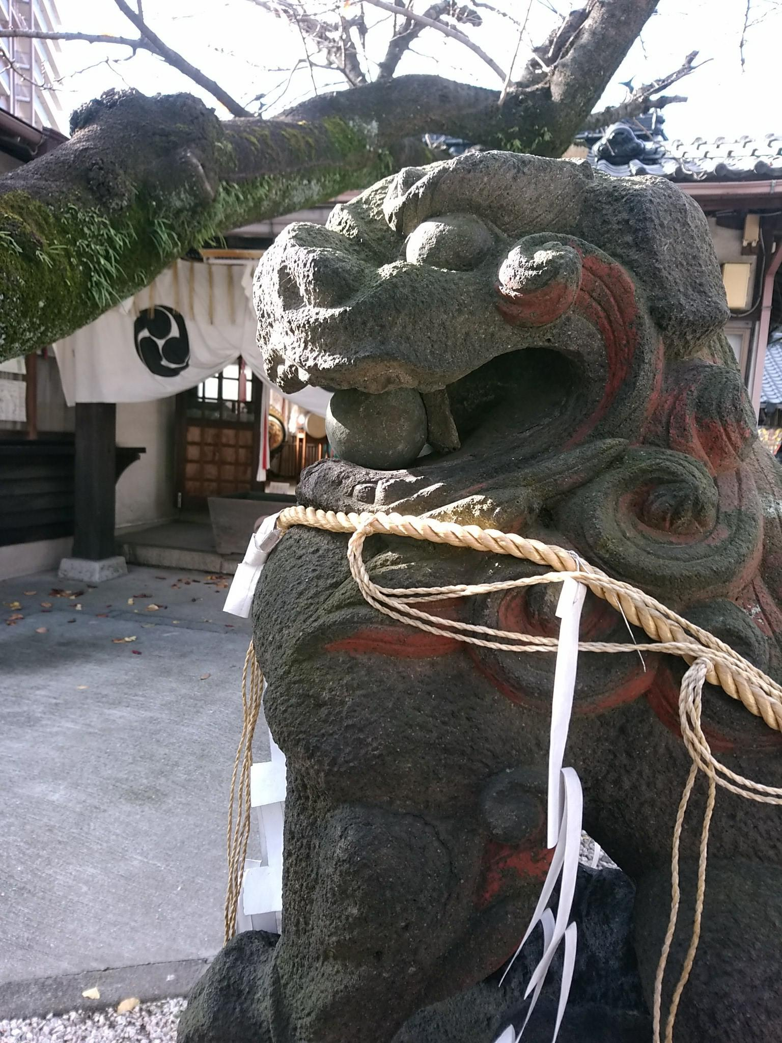 日吉神社の狛犬