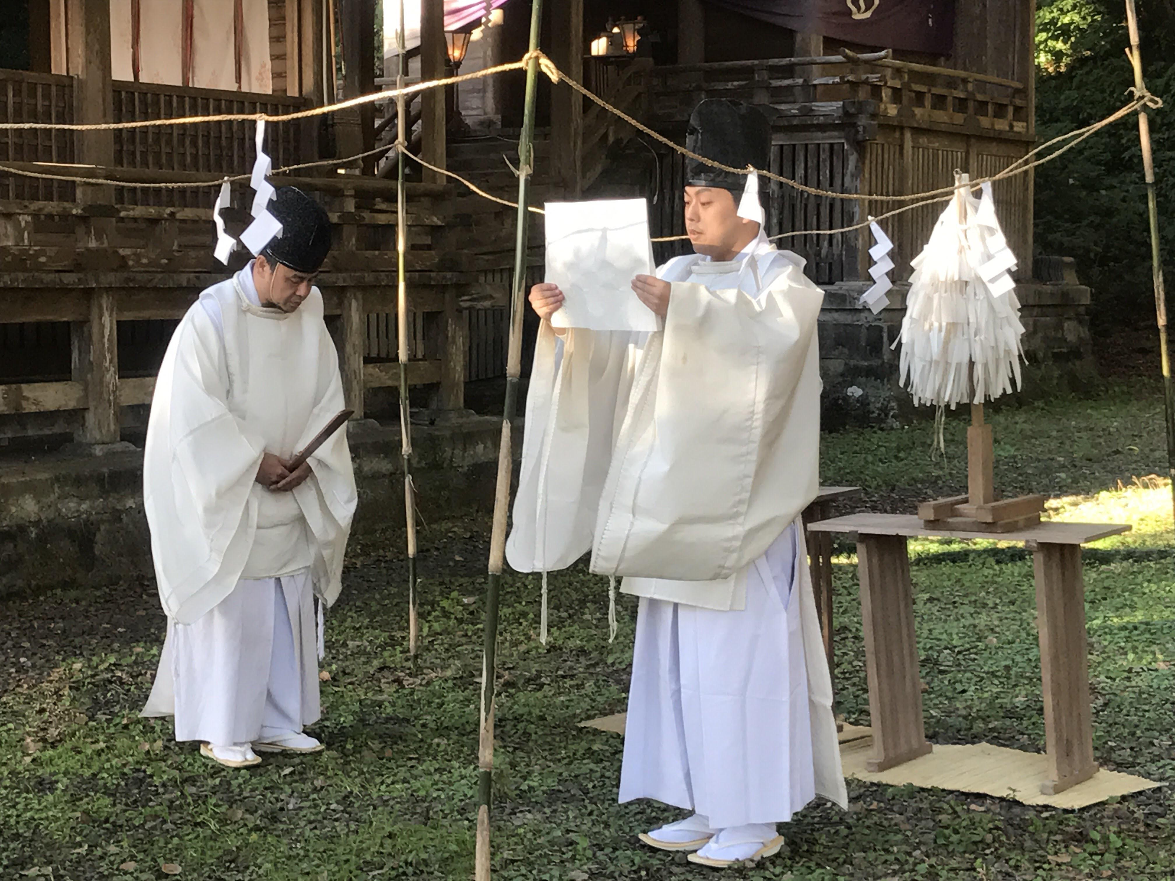 精矛神社のお祭り