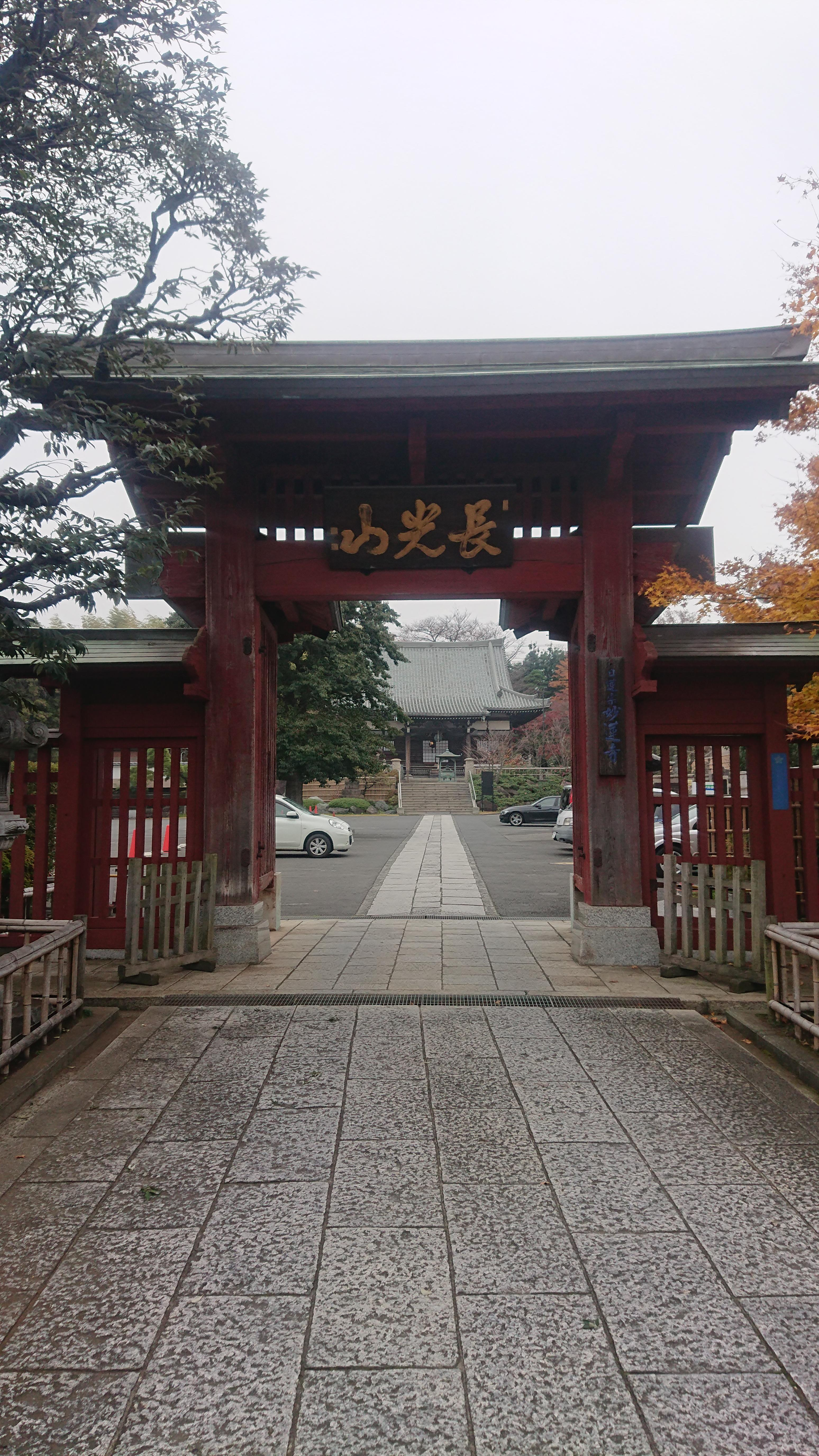 妙蓮寺の境内・文化財