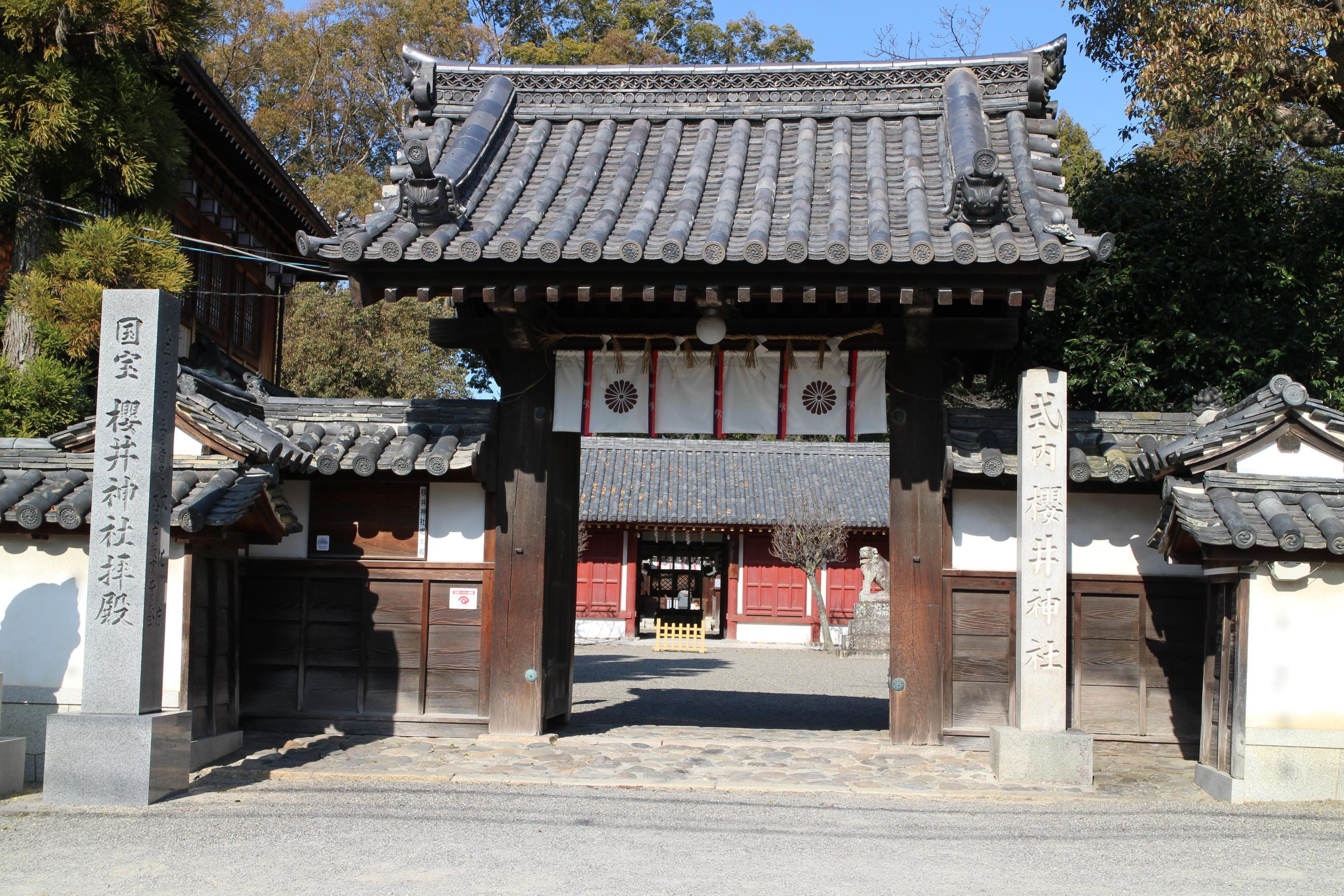 櫻井神社の山門