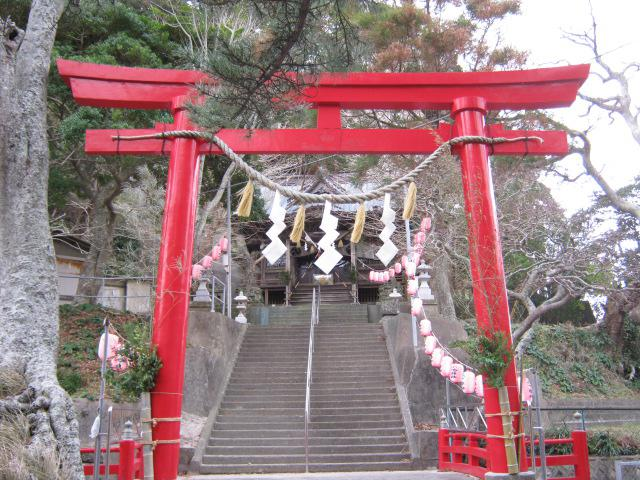 小湊神社の鳥居