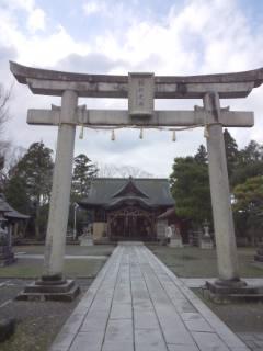 総社大神宮の鳥居