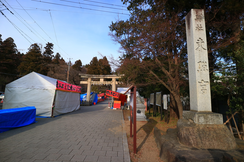 仙台東照宮の景色
