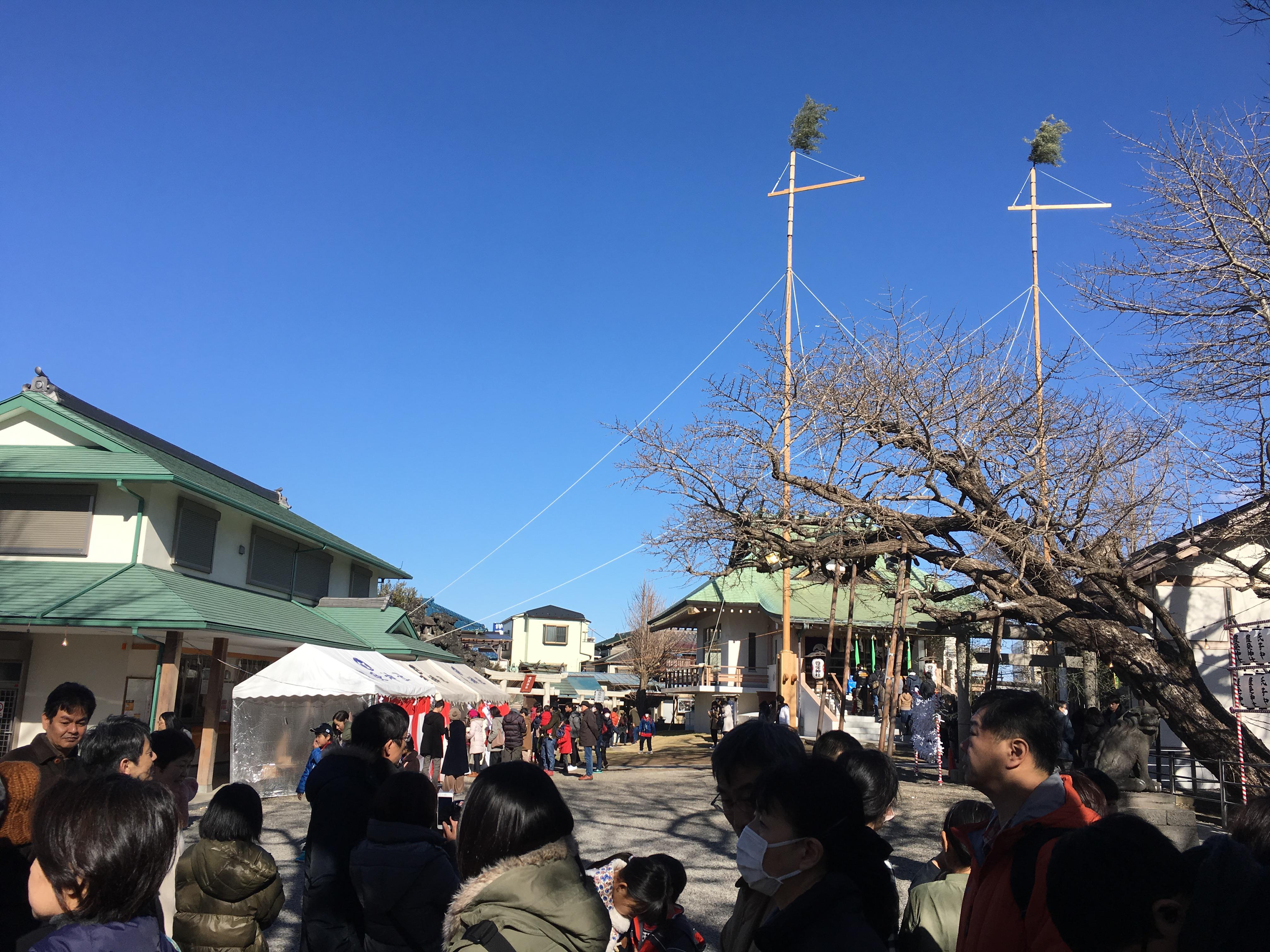 豊受神社の景色