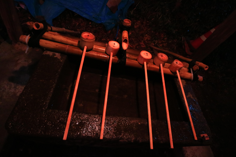 鹿島神社の手水
