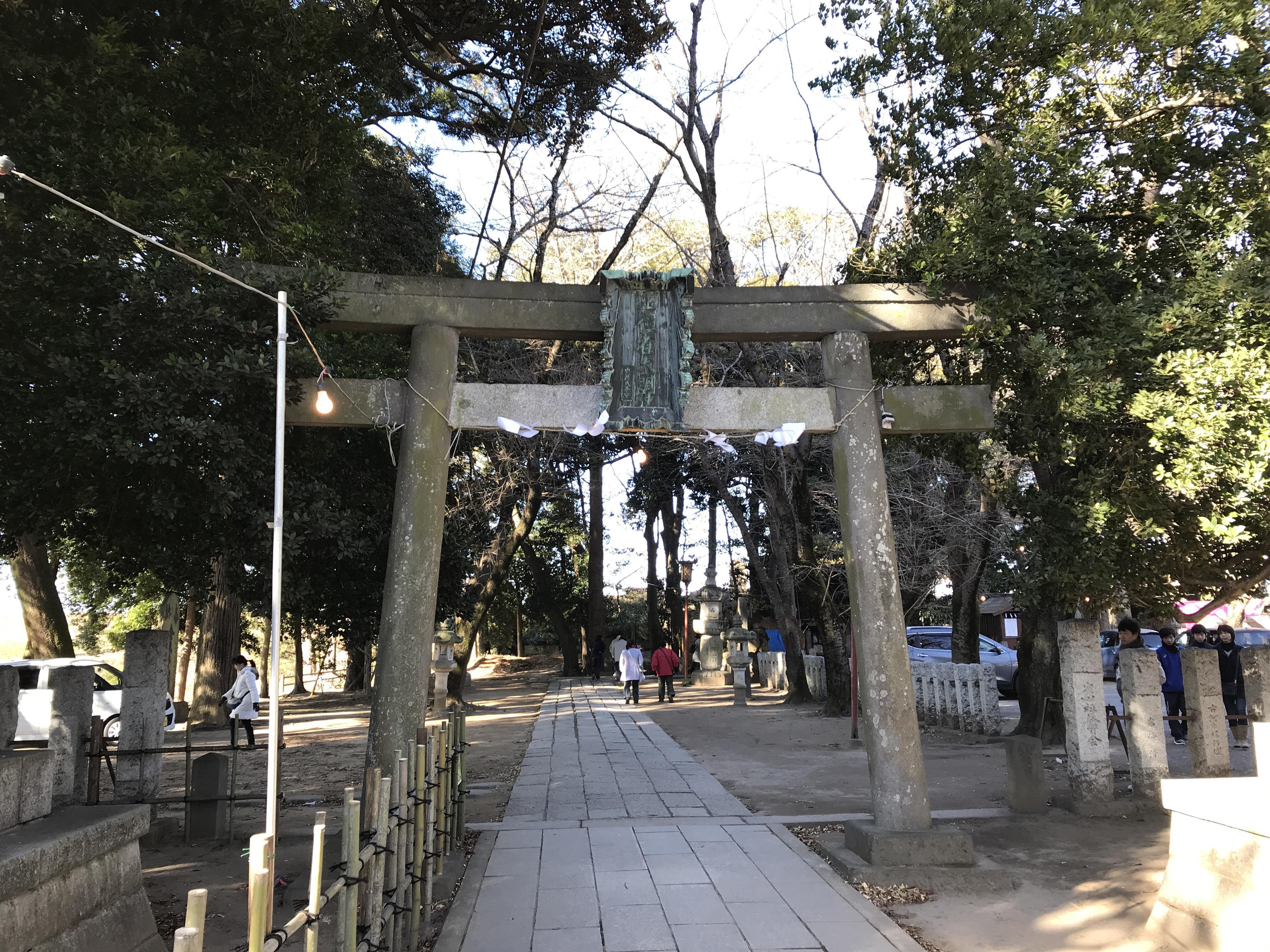 雀神社の鳥居