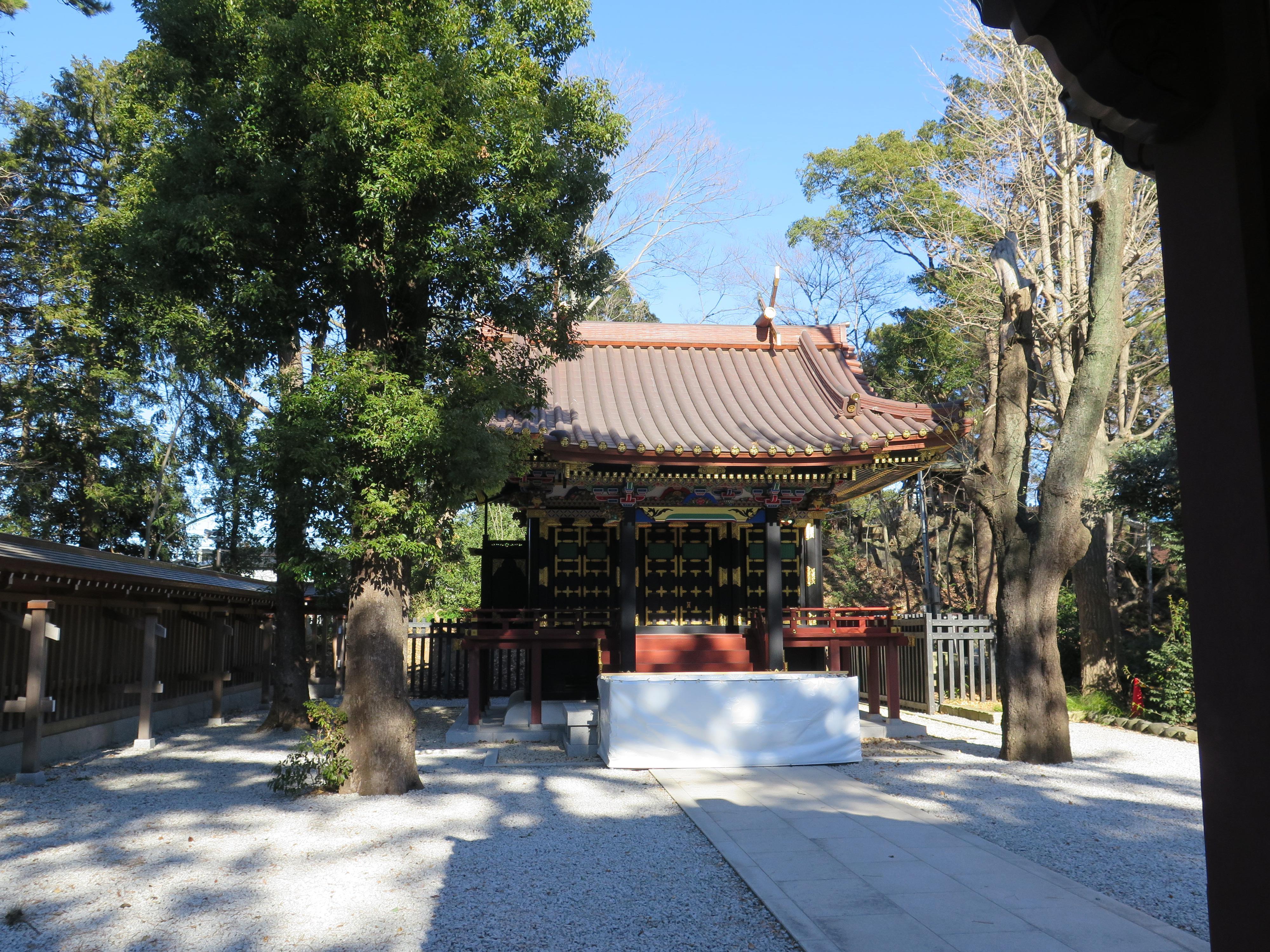 常磐神社の本殿