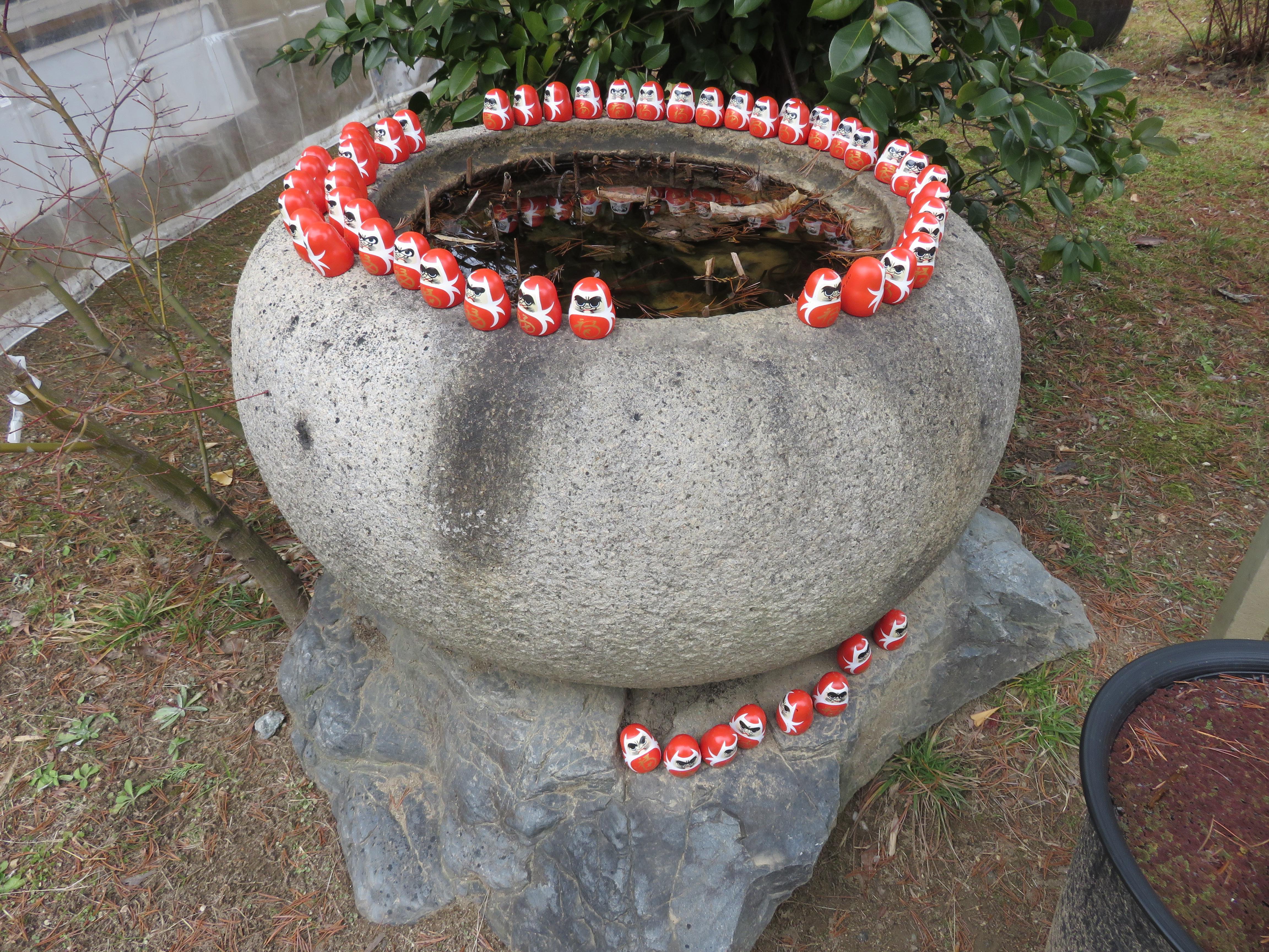 大安寺の像