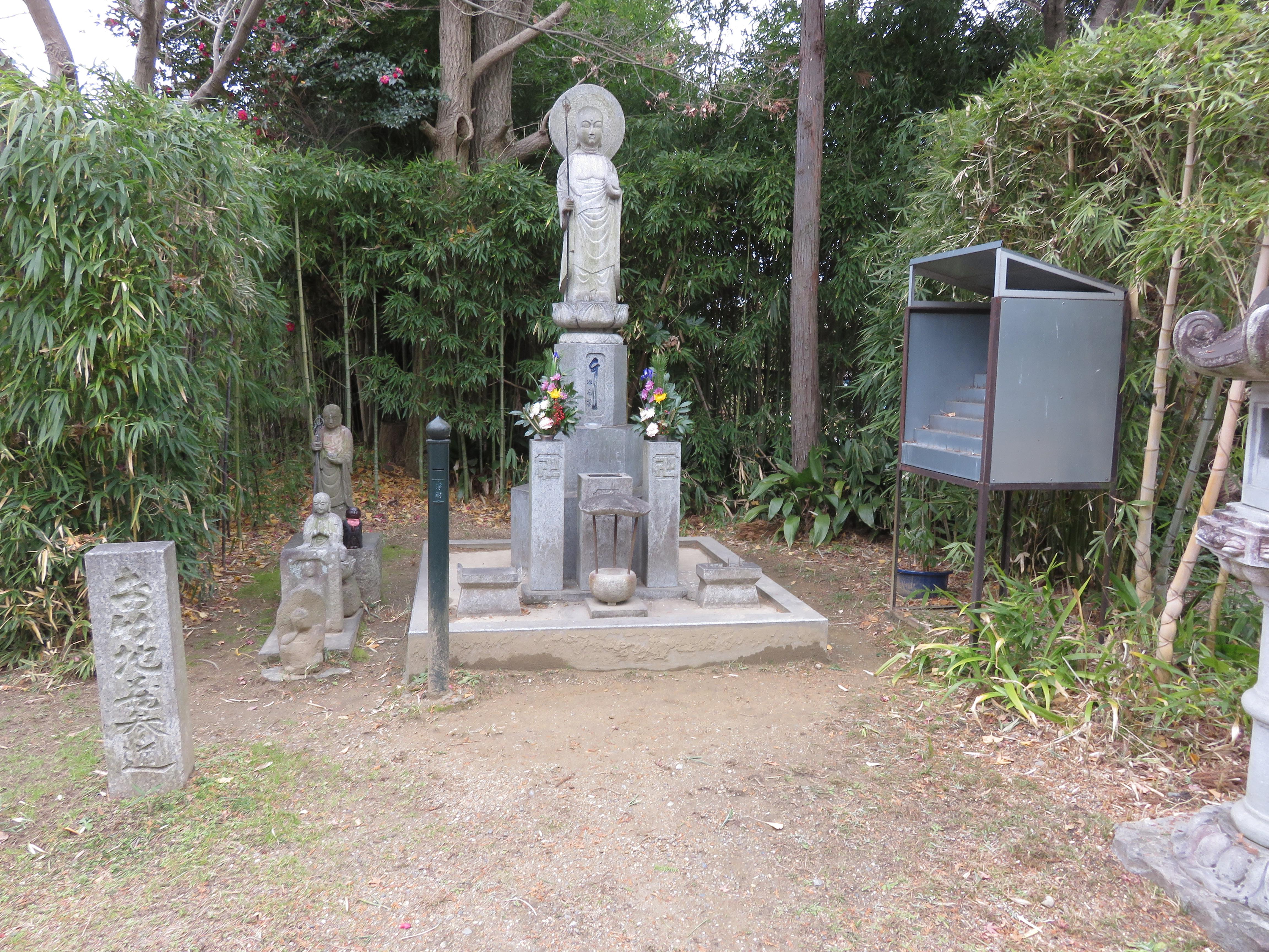 大安寺の仏像