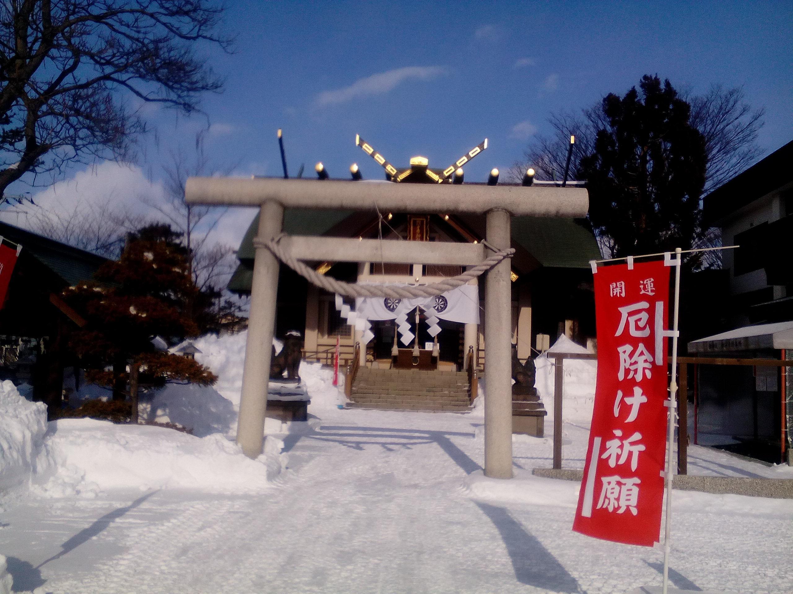 烈々布神社の鳥居
