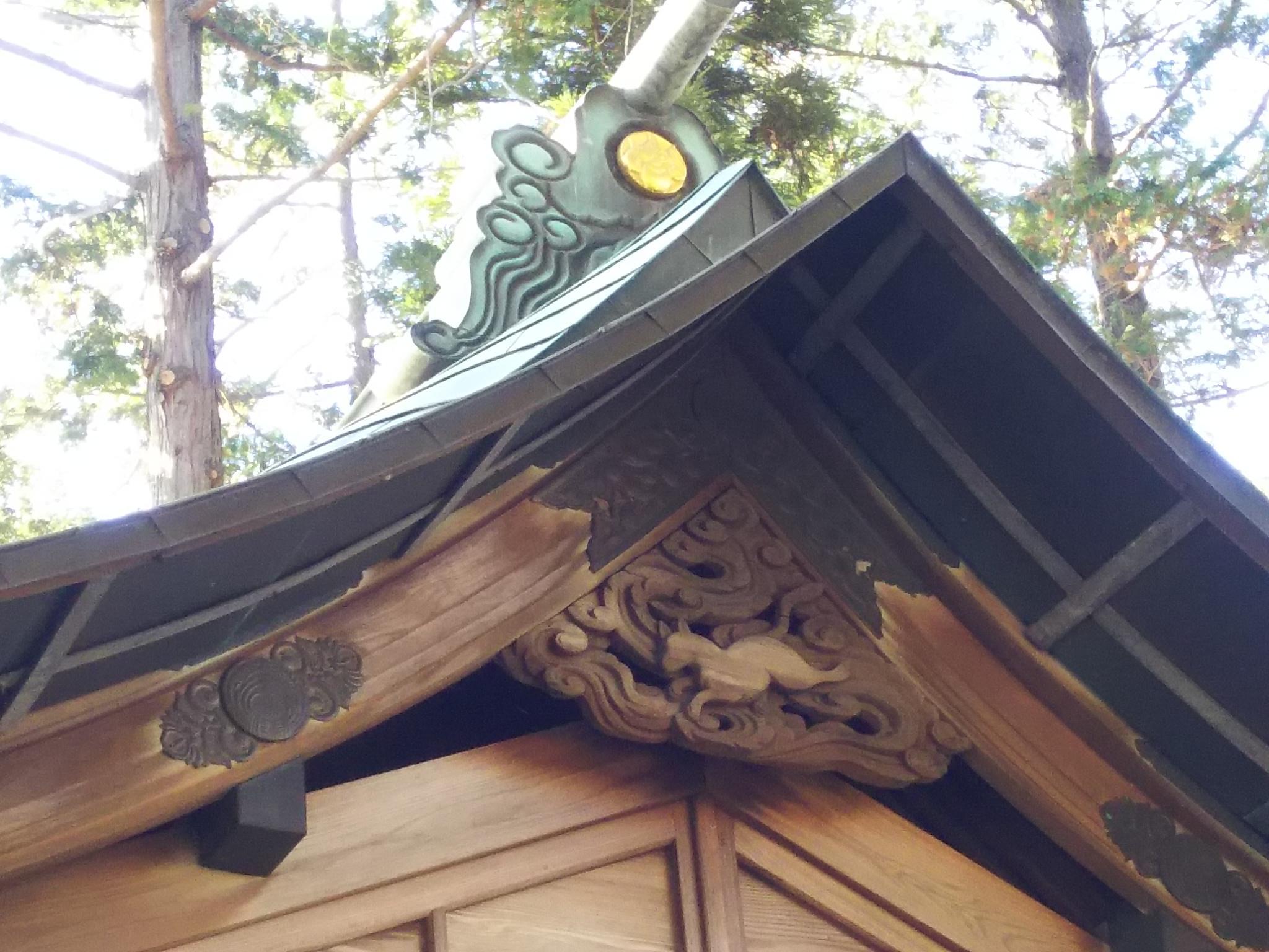 瓦曽根稲荷神社の本殿