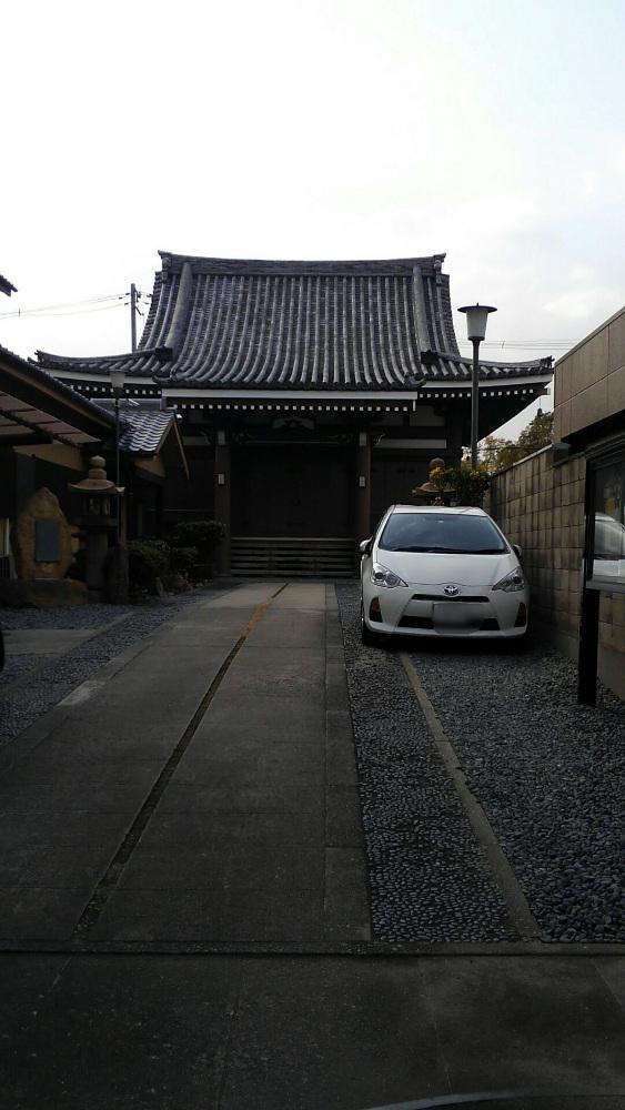 本誓寺の本殿