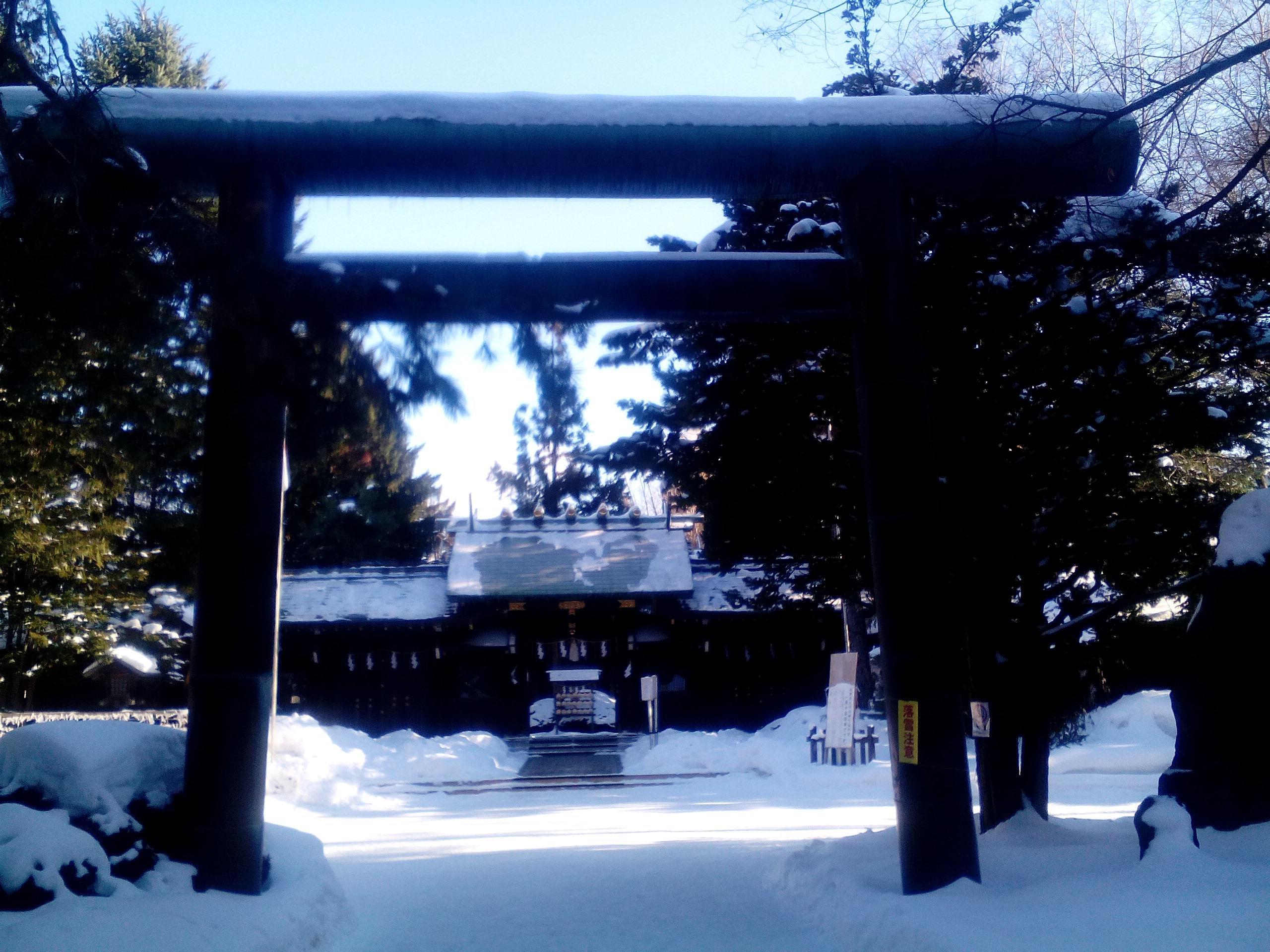 琴似神社の鳥居