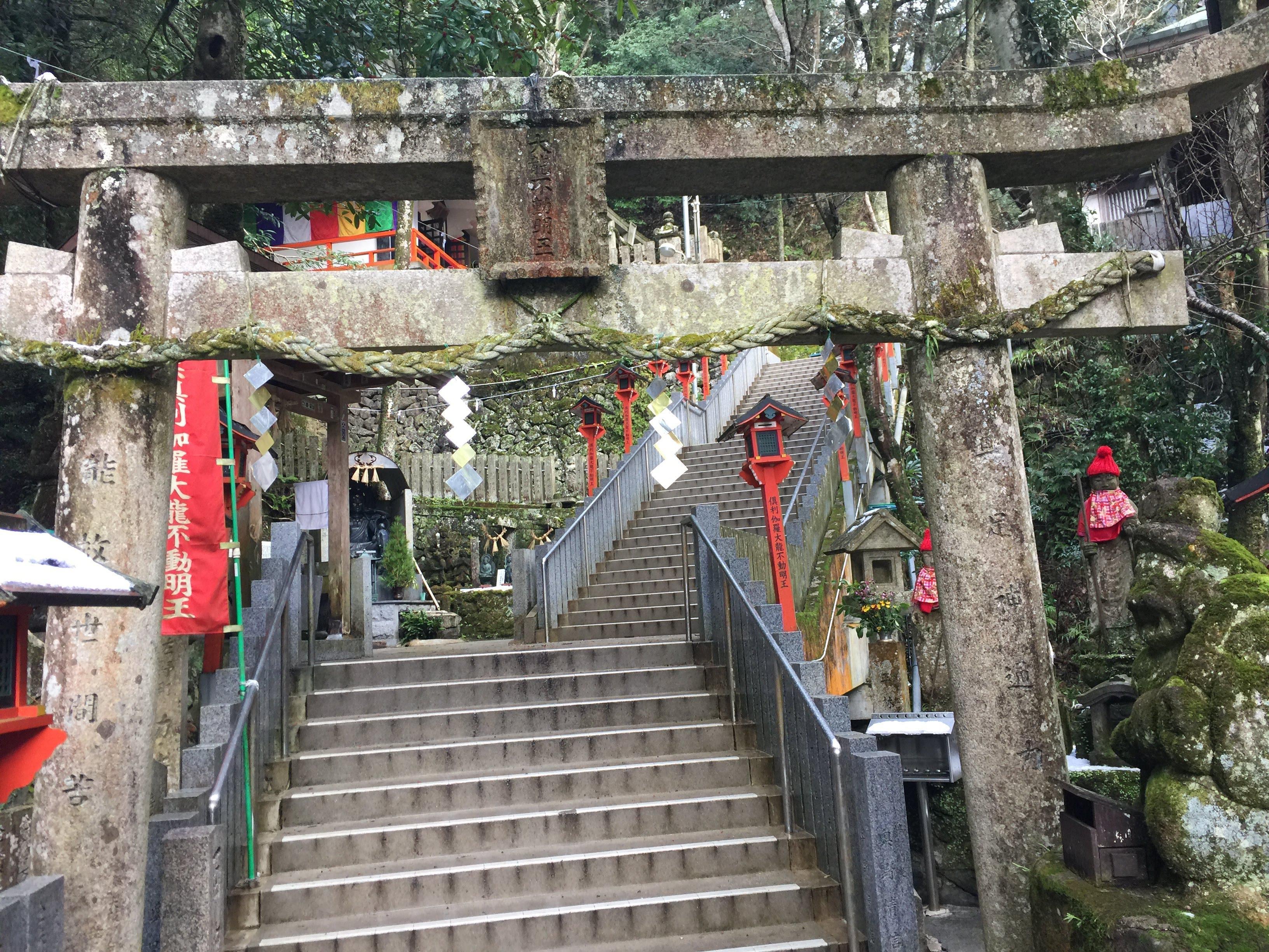 大本山七宝瀧寺の鳥居