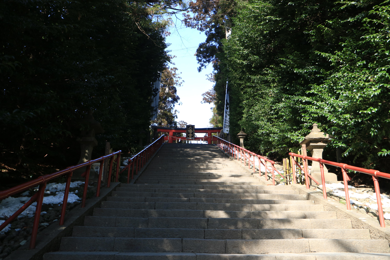 大崎八幡宮の景色