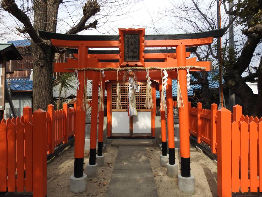 太川神社の本殿