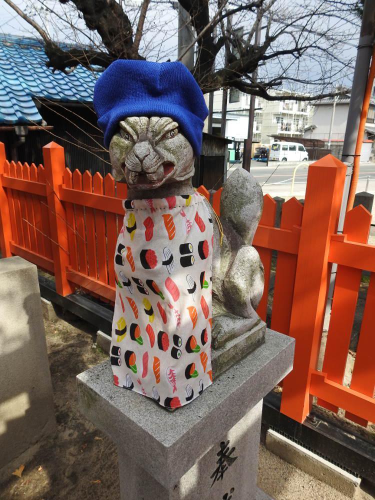 太川神社の狛犬