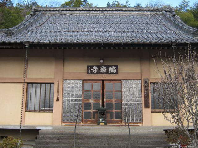 瑞岩寺の本殿