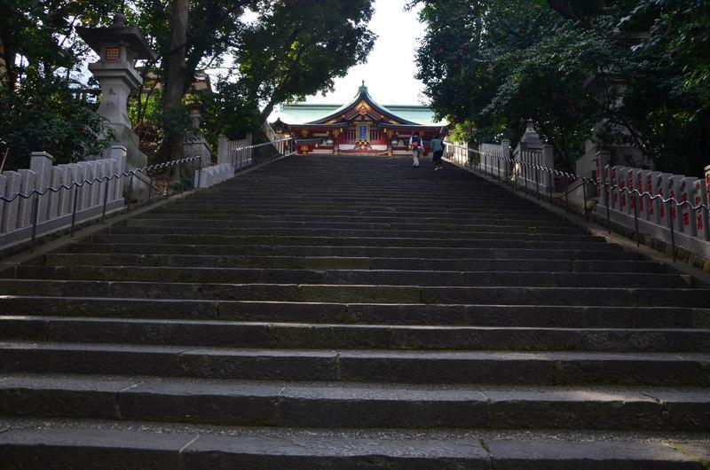 日枝神社の本殿