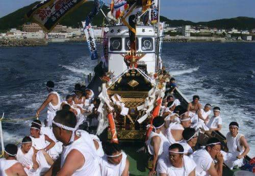 住吉神社のお祭り