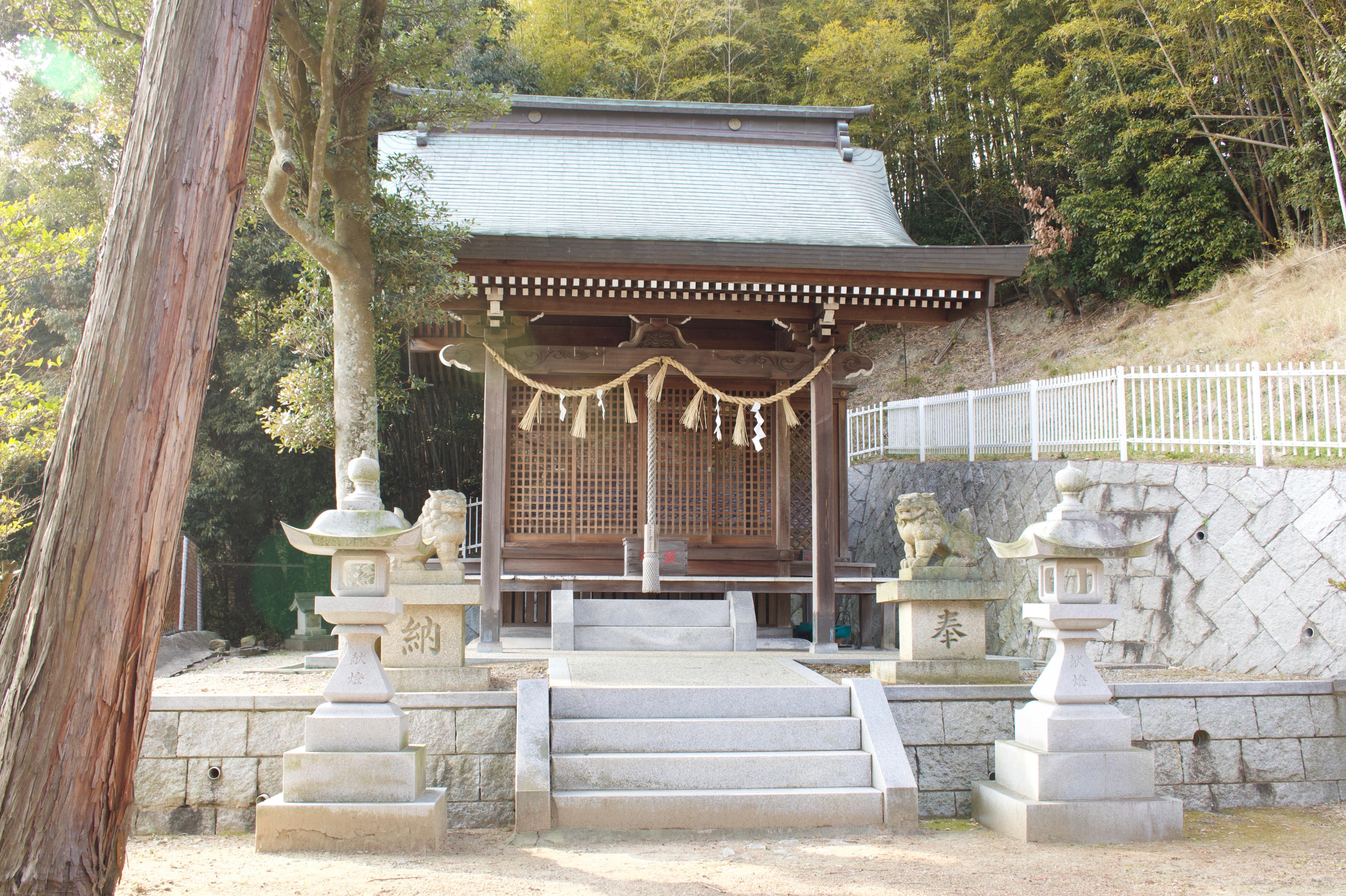 前開上大歳神社の本殿