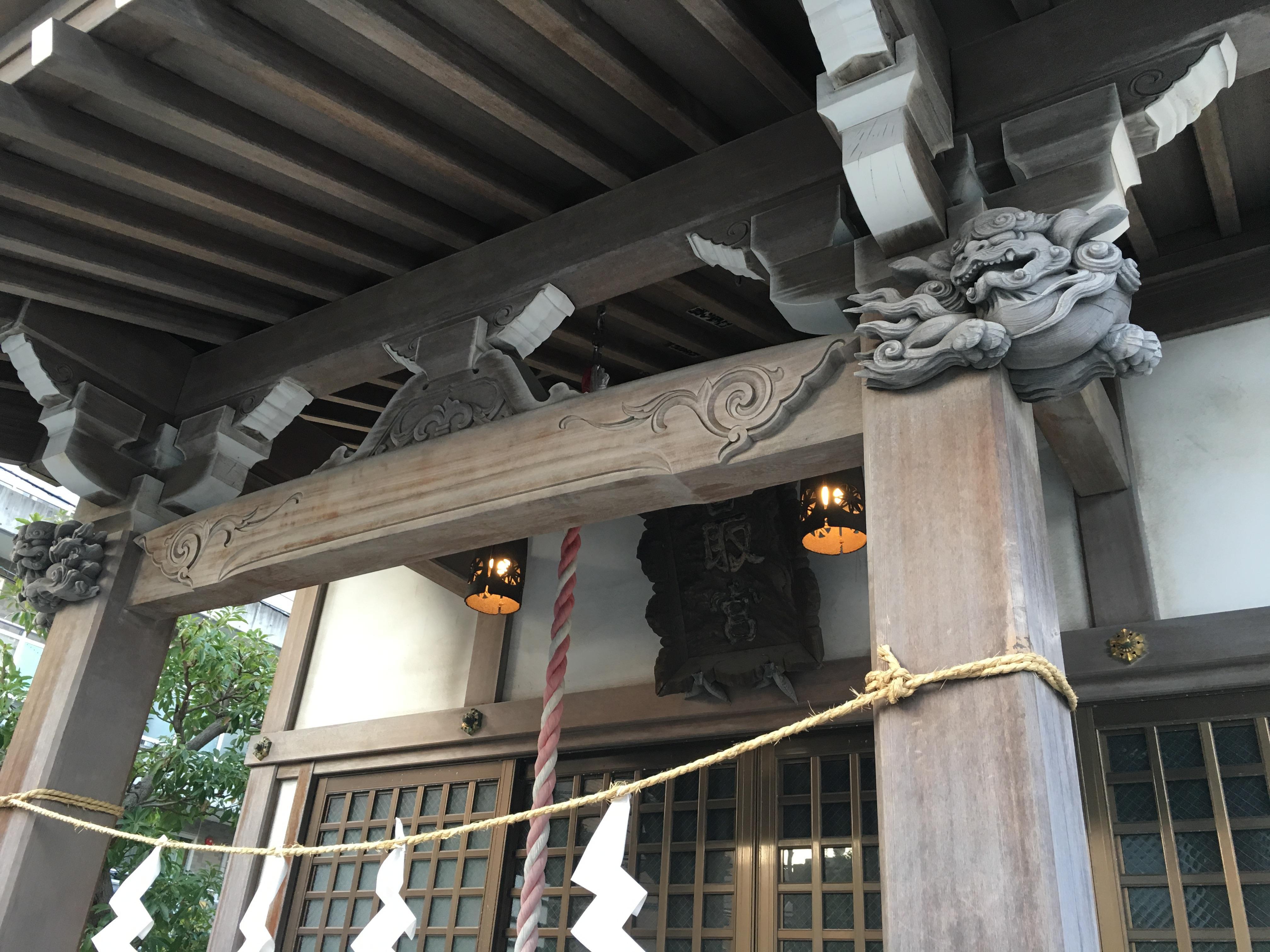 中葛西香取神社の建物その他