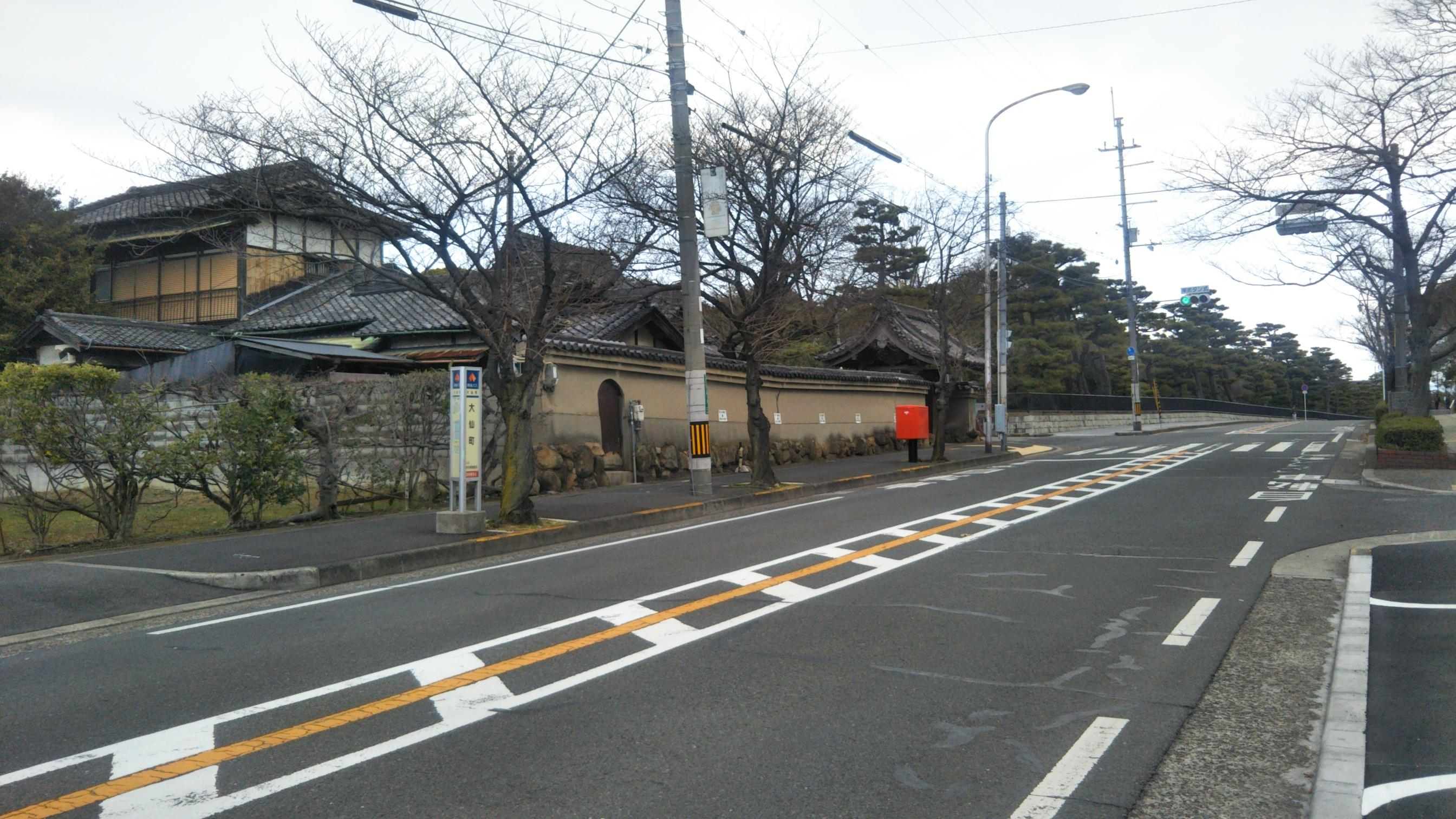 朝日寺の周辺