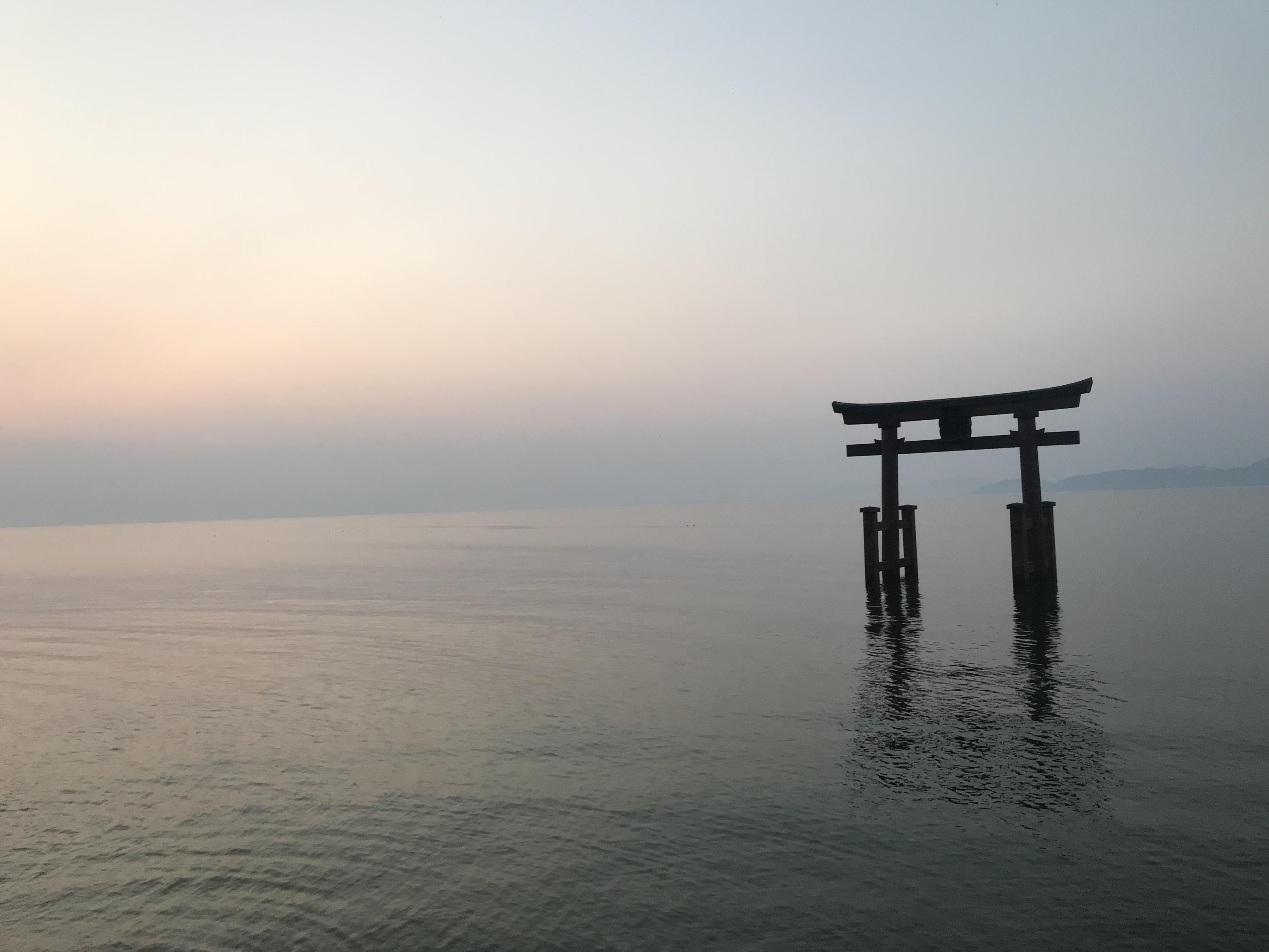 白鬚神社の鳥居
