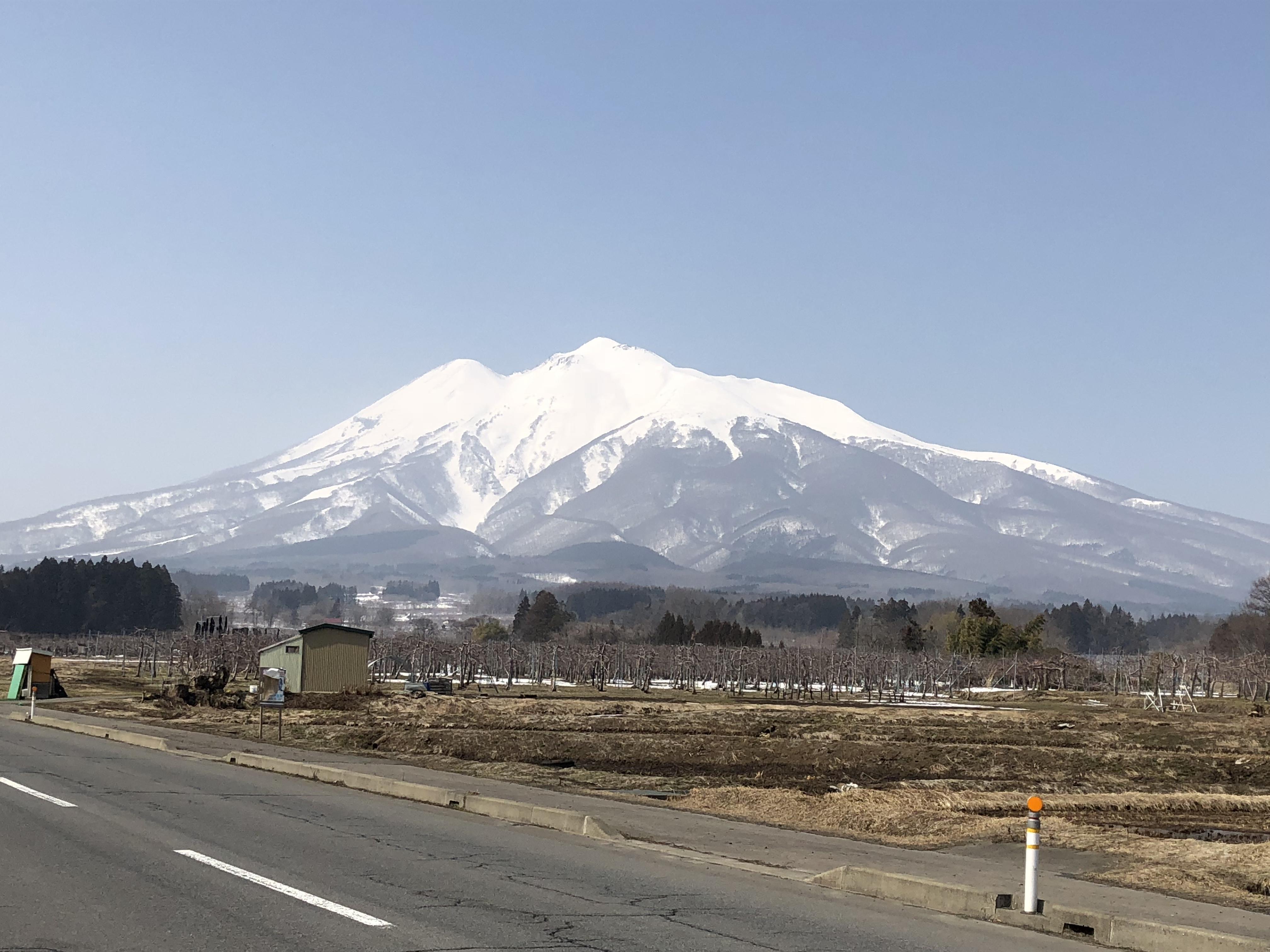 岩木山神社の景色