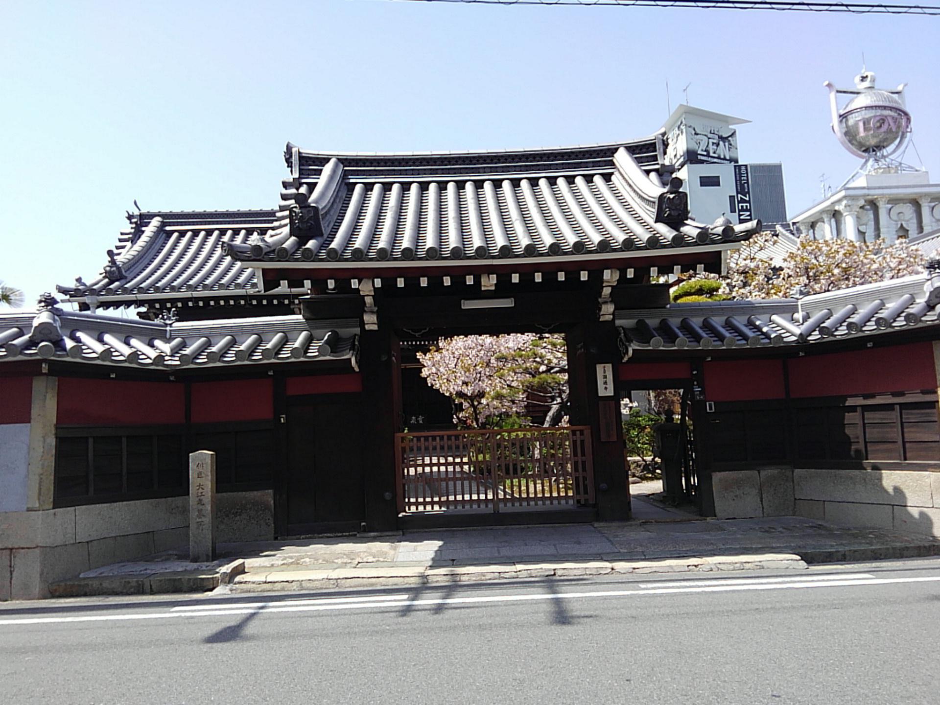 圓通寺の山門
