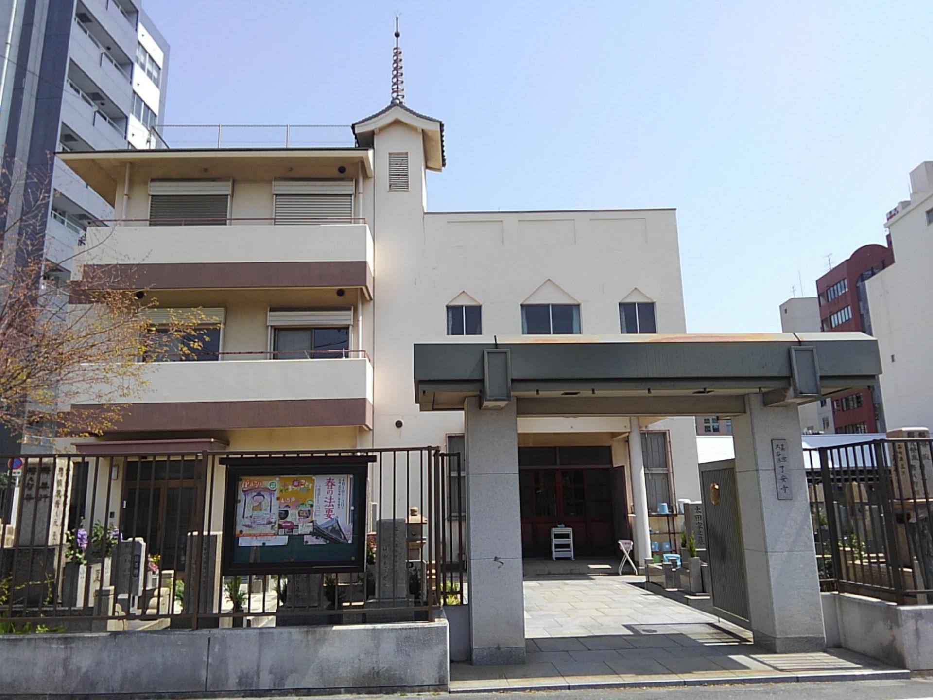 了安寺の本殿