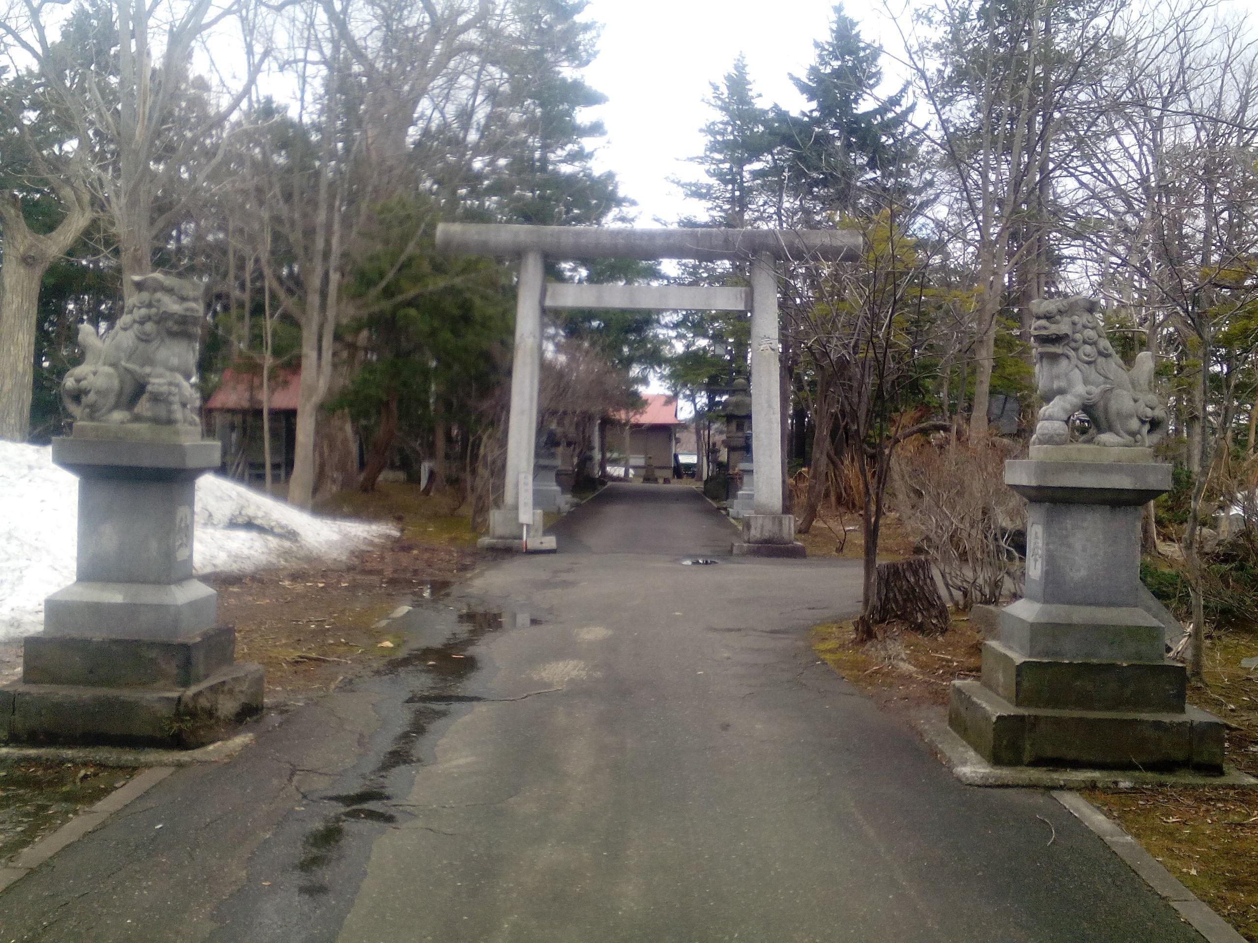 岩見沢神社の境内・文化財