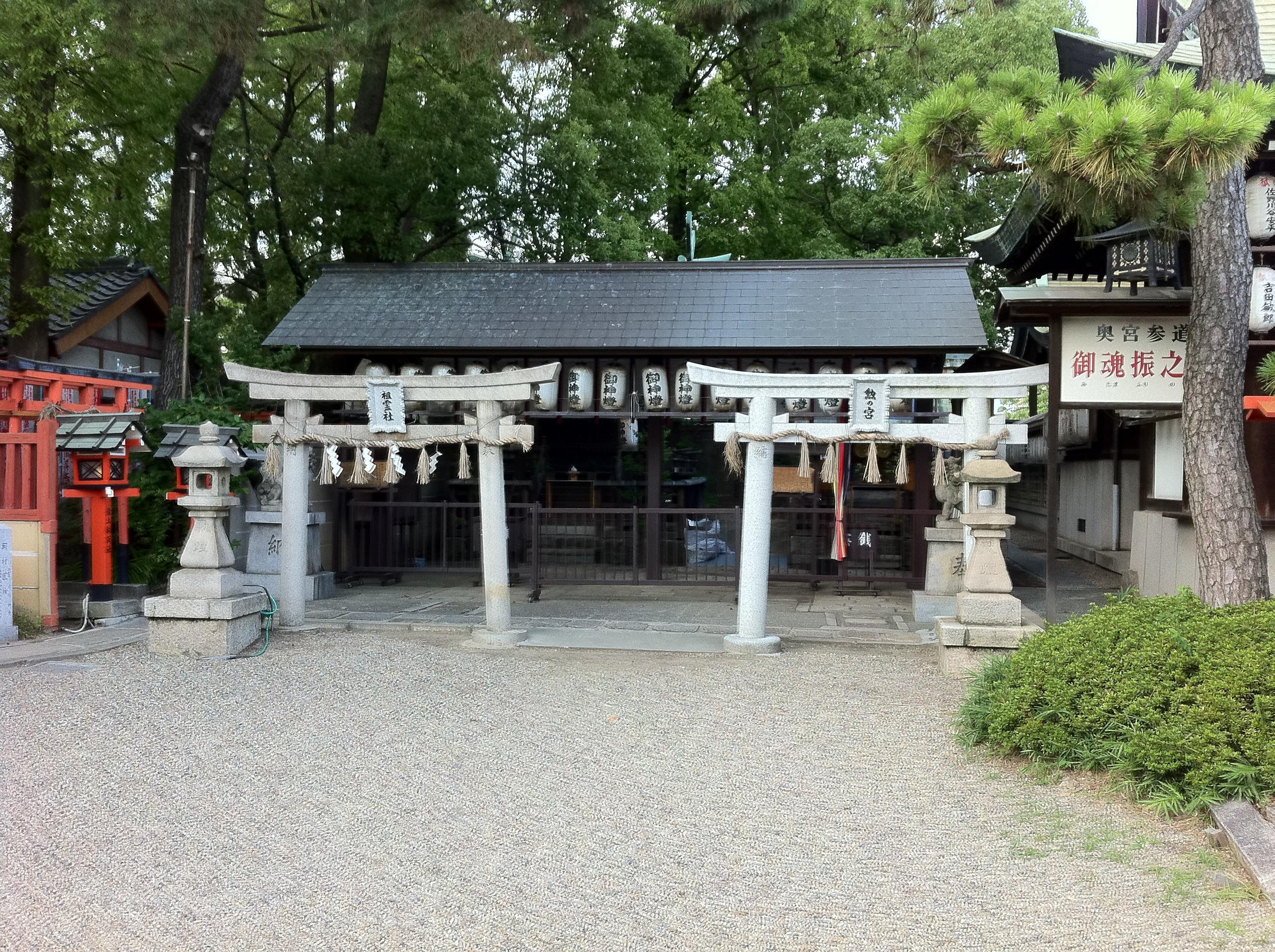 阿部野神社の末社