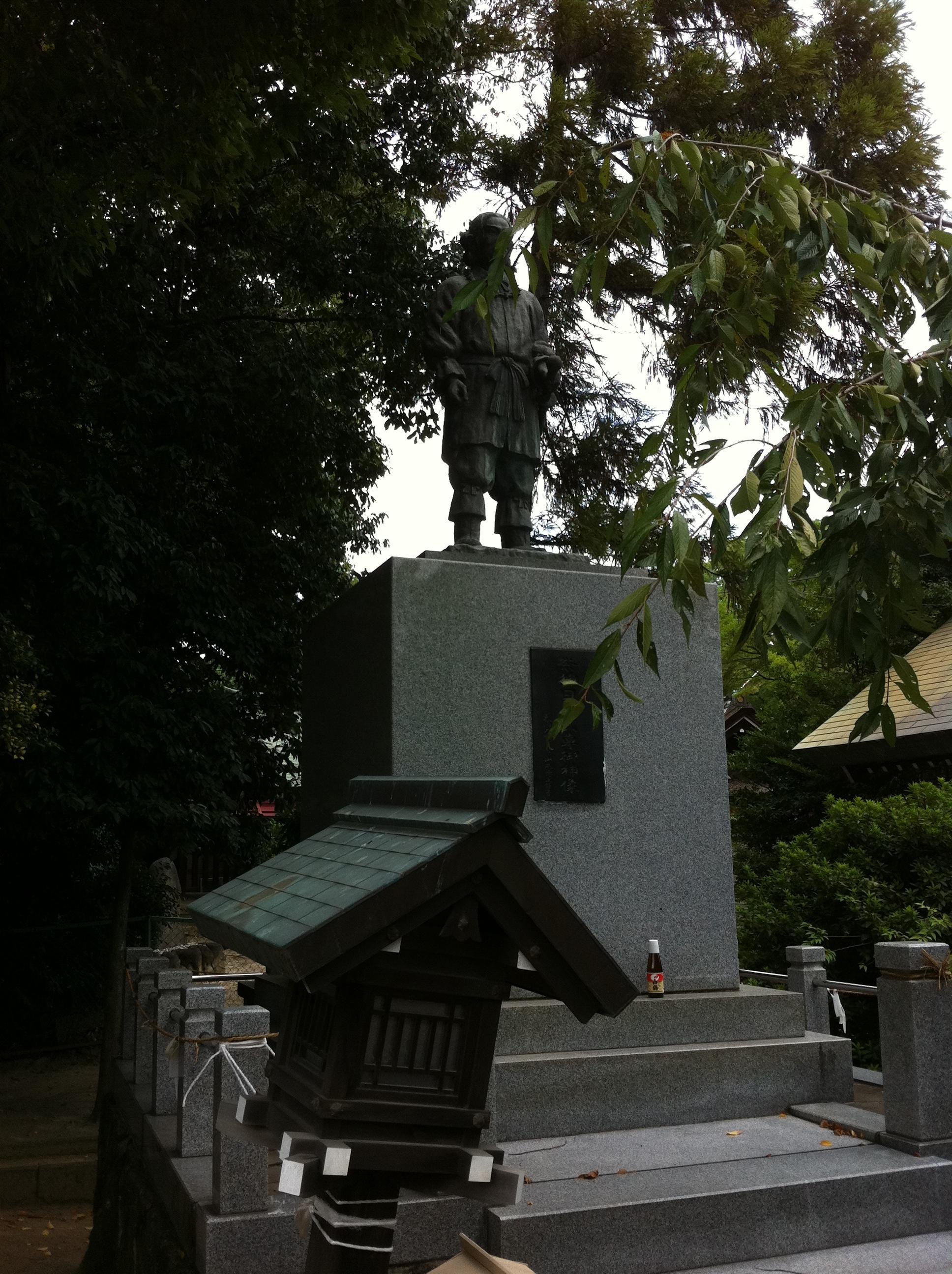 和泉國一之宮 大鳥大社の像